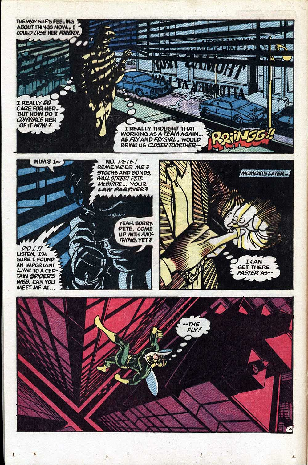 Read online The Fly (1983) comic -  Issue #1 - 15