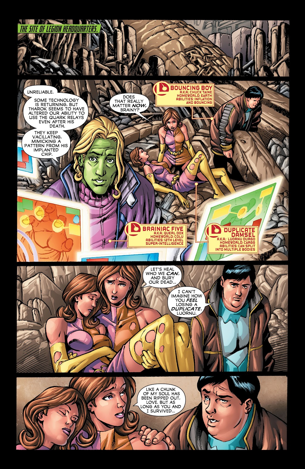Legion of Super-Heroes (2011) Issue #22 #23 - English 20