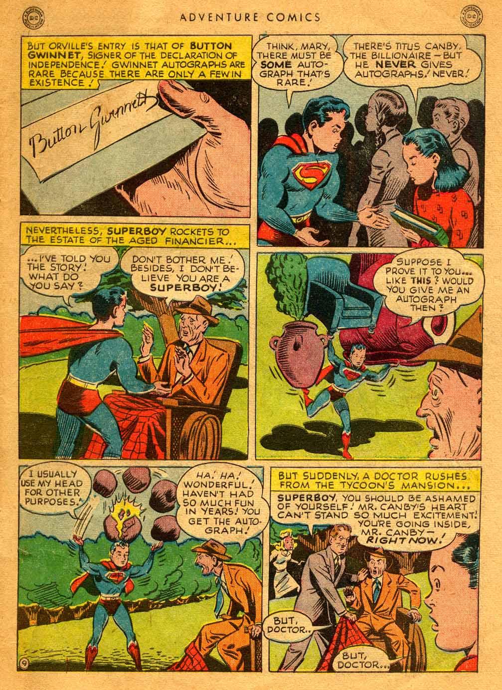 Read online Adventure Comics (1938) comic -  Issue #121 - 11