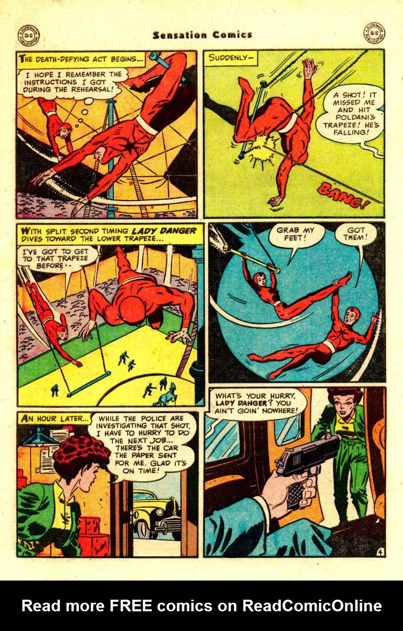 Read online Sensation (Mystery) Comics comic -  Issue #88 - 43