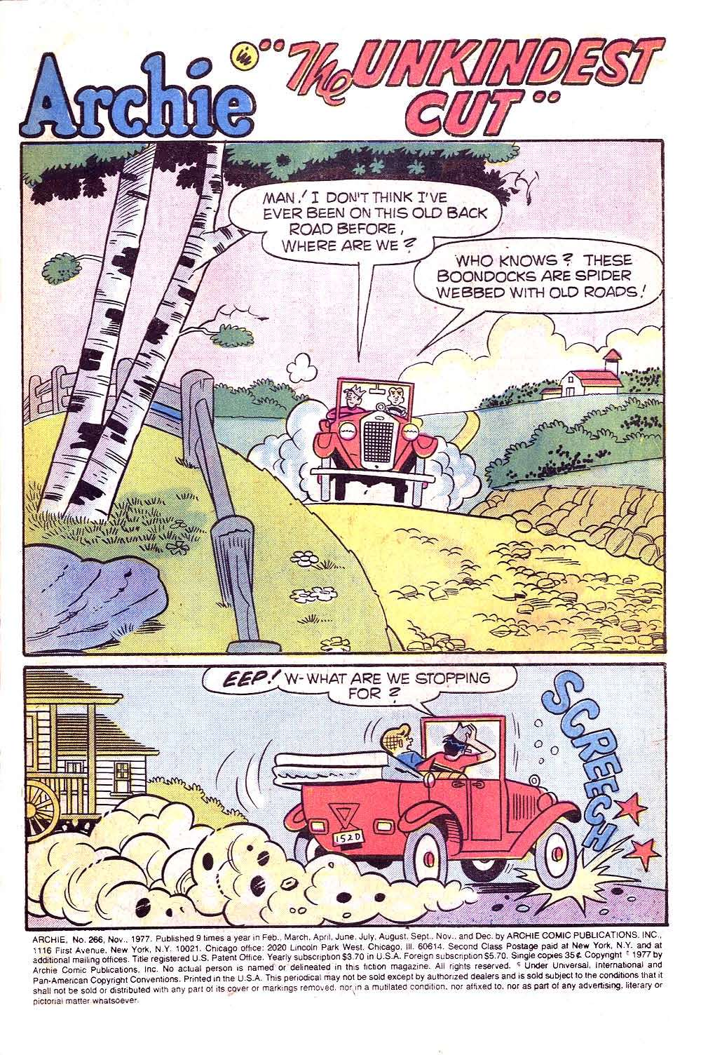 Read online Archie (1960) comic -  Issue #266 - 3