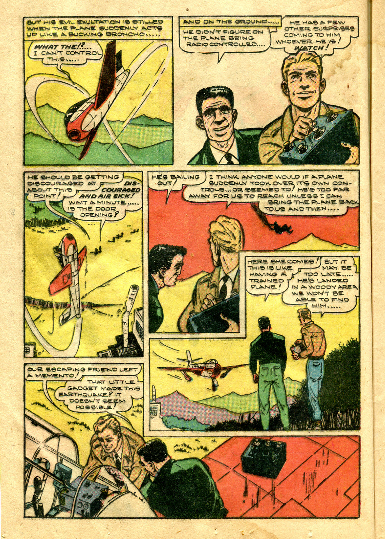 Read online Shadow Comics comic -  Issue #99 - 22