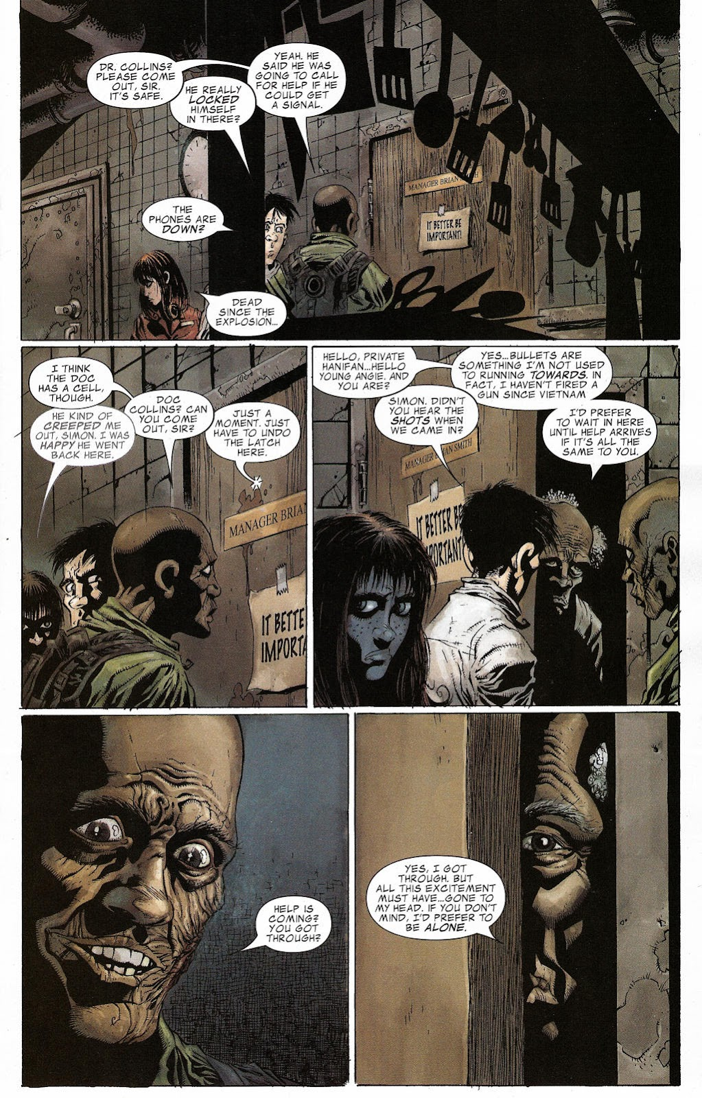 Read online Zombie (2006) comic -  Issue #2 - 6