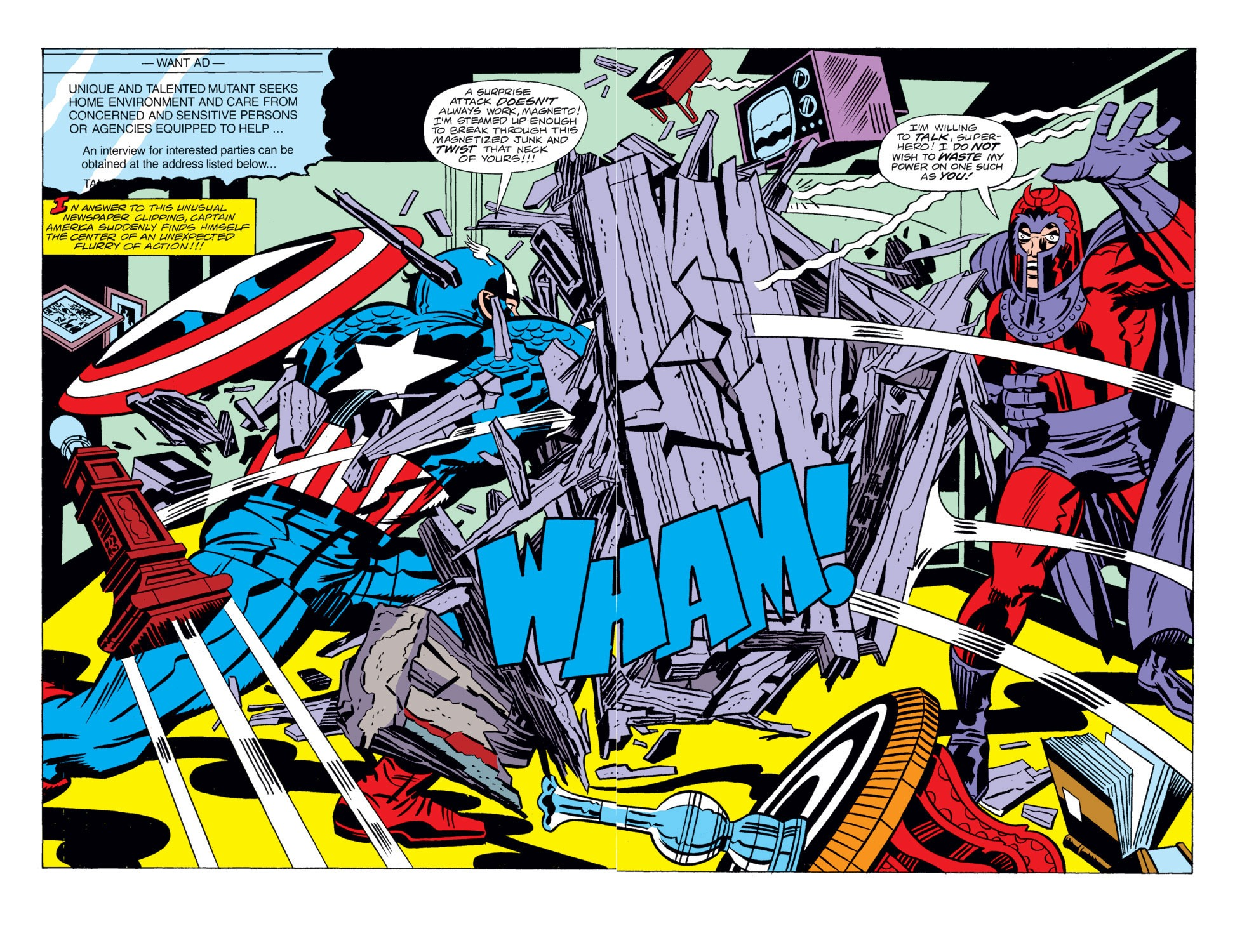 Read online Captain America (1968) comic -  Issue # _Annual 4 - 3