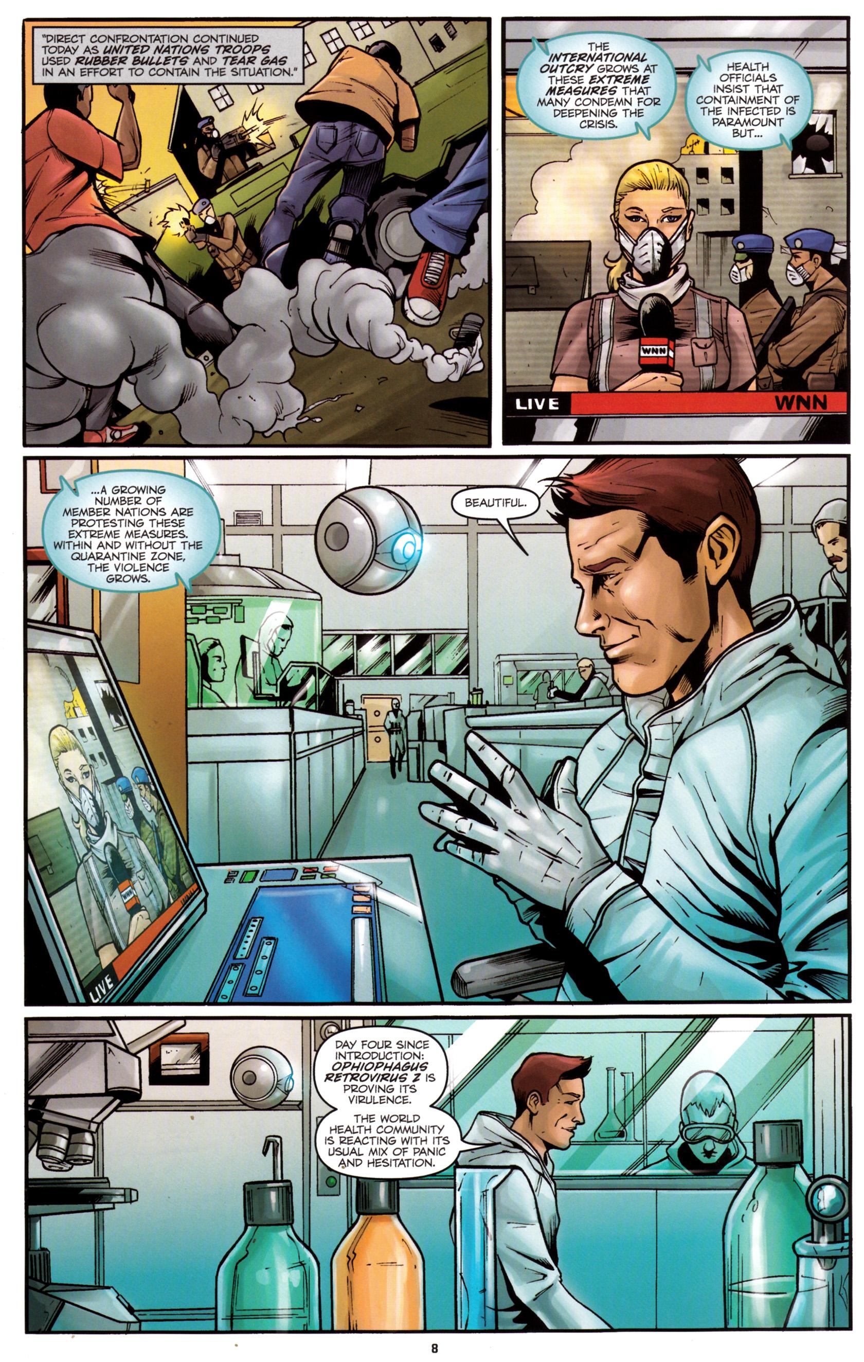 Read online G.I. Joe: Snake Eyes comic -  Issue #5 - 11
