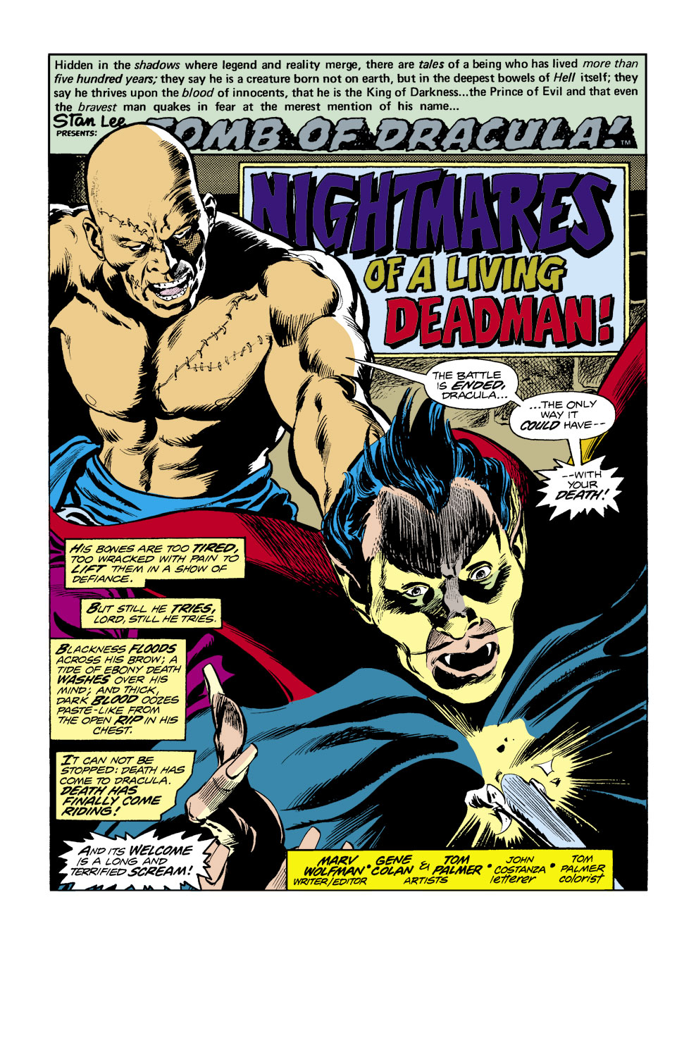 Tomb of Dracula (1972) issue 40 - Page 2