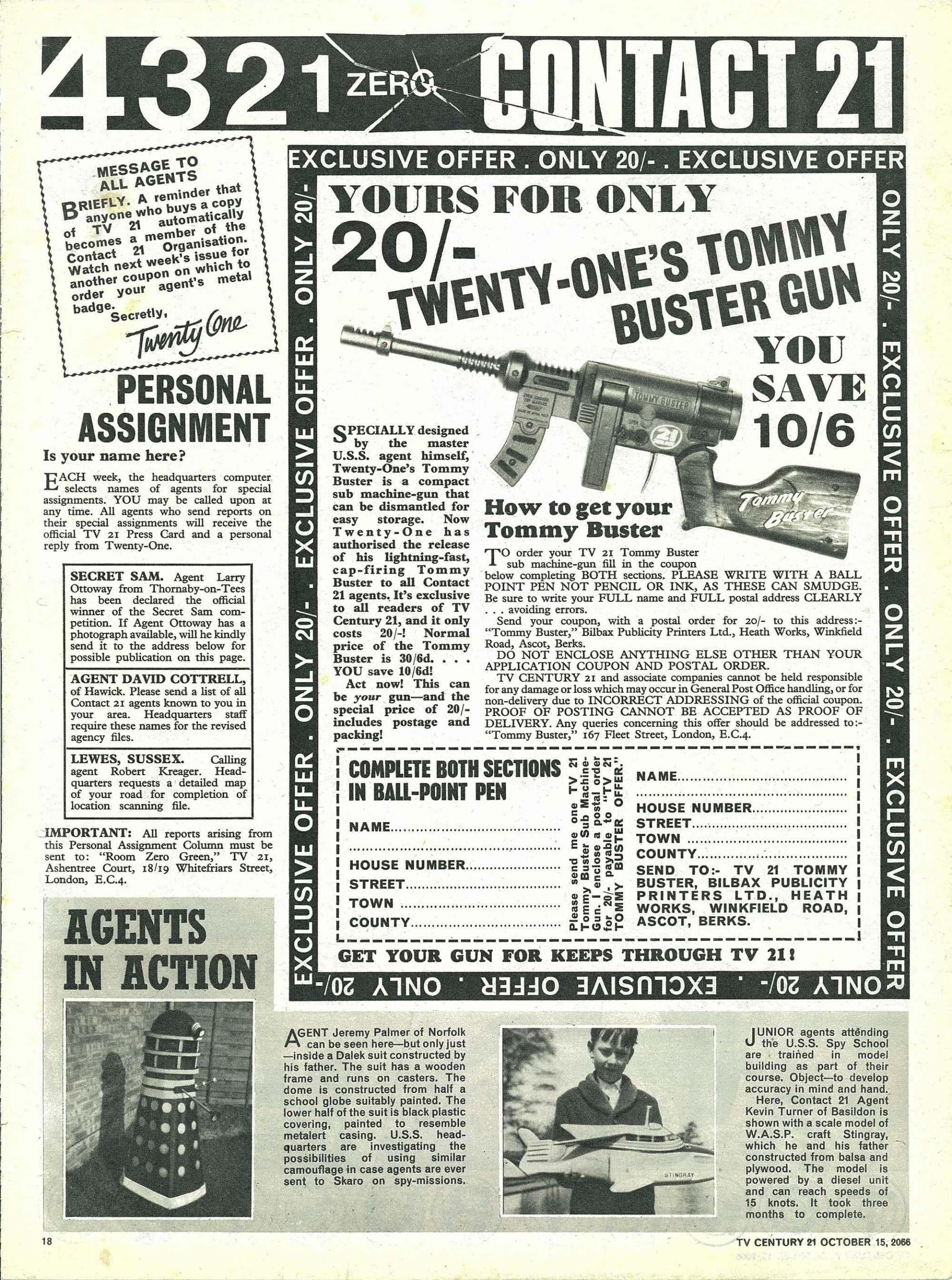 Read online TV Century 21 (TV 21) comic -  Issue #91 - 17