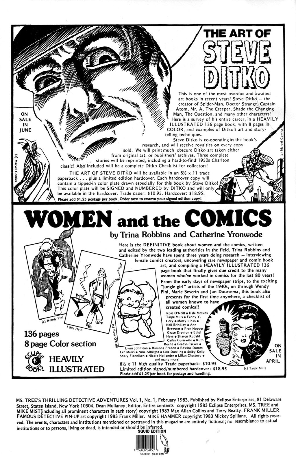 Ms. Tree (1983) issue 1 - Page 2