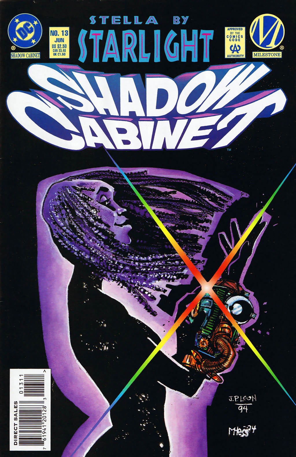 Read online Shadow Cabinet comic -  Issue #13 - 1