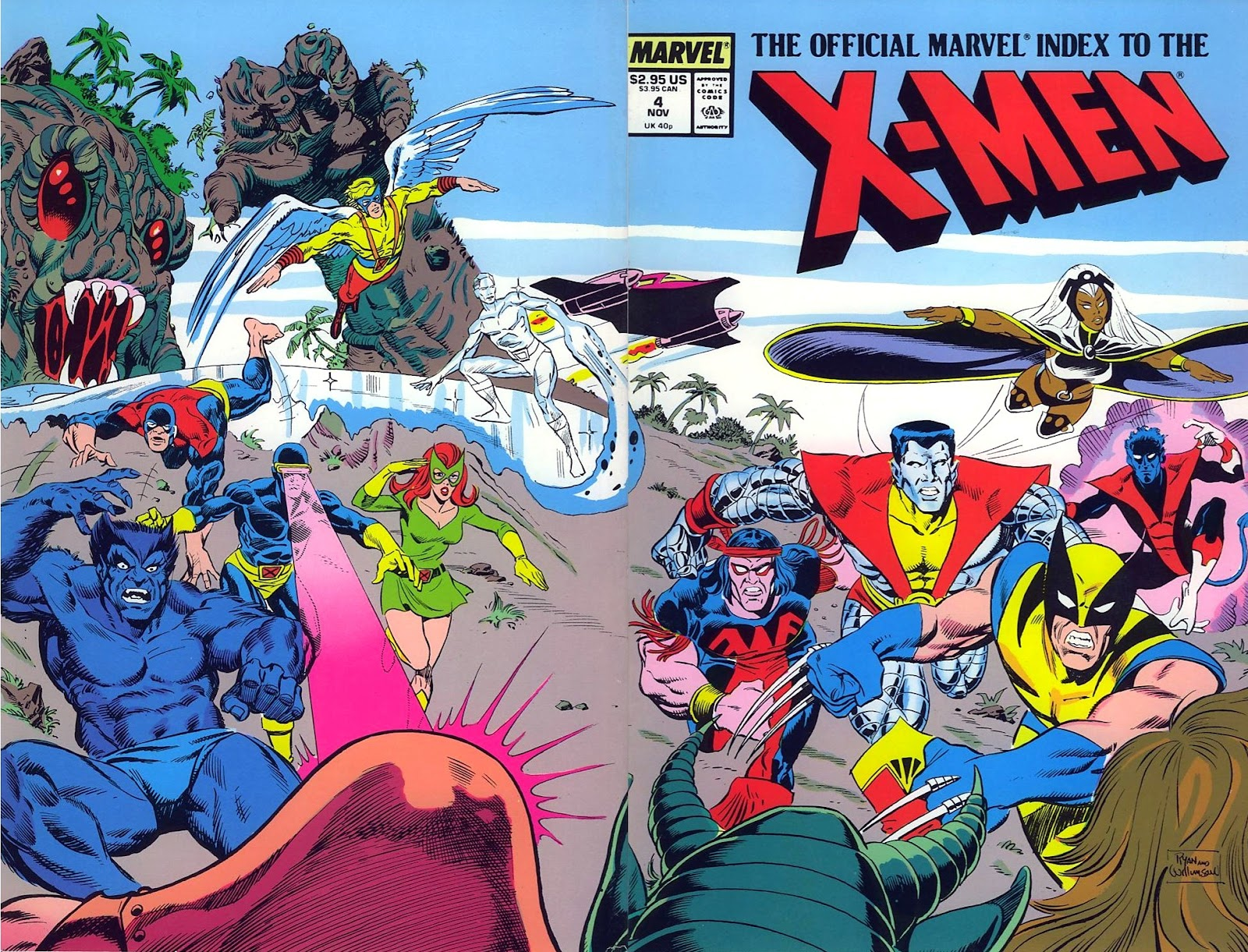 The Official Marvel Index To The X-Men (1987) issue 4 - Page 1