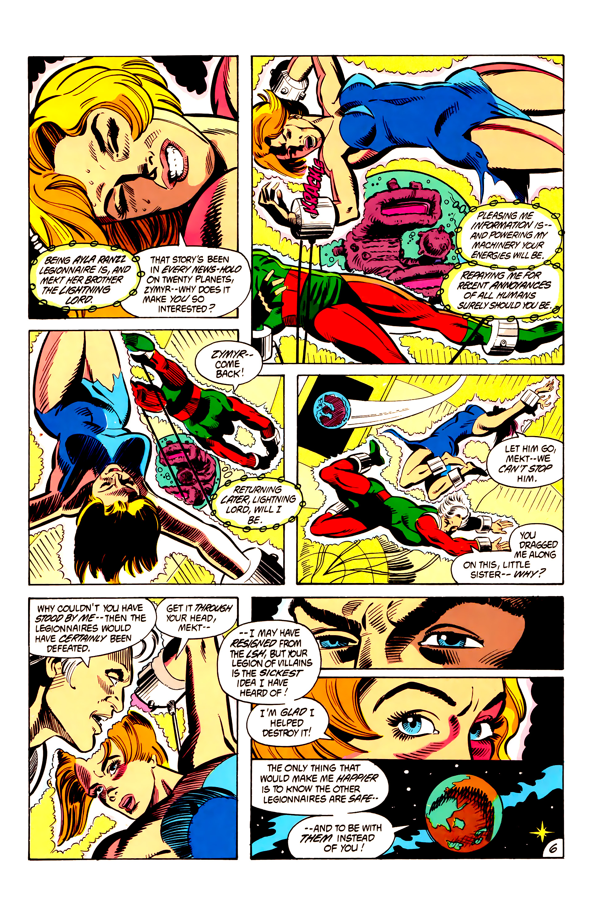 Legion of Super-Heroes (1984) 6 Page 6