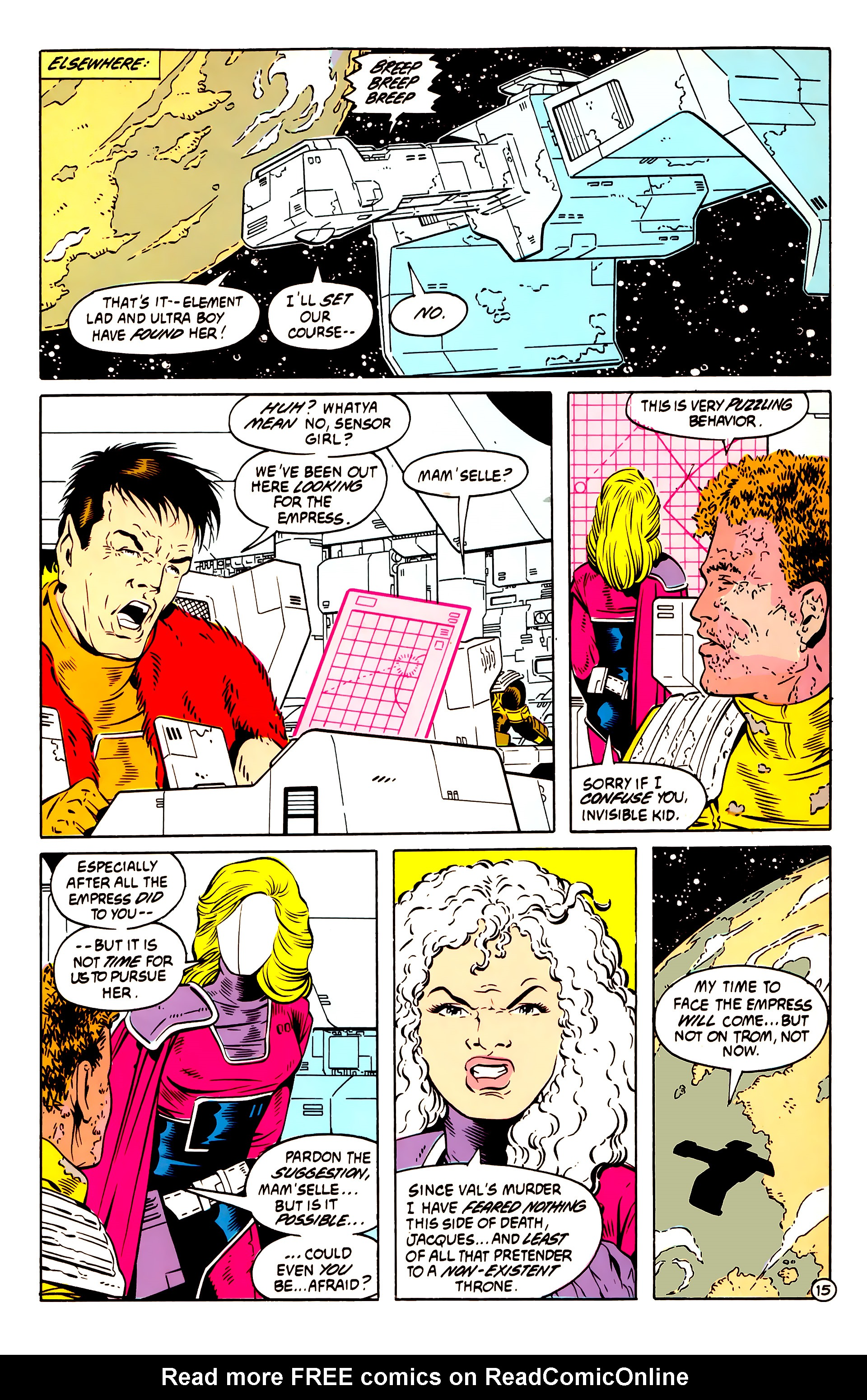 Legion of Super-Heroes (1984) 58 Page 15