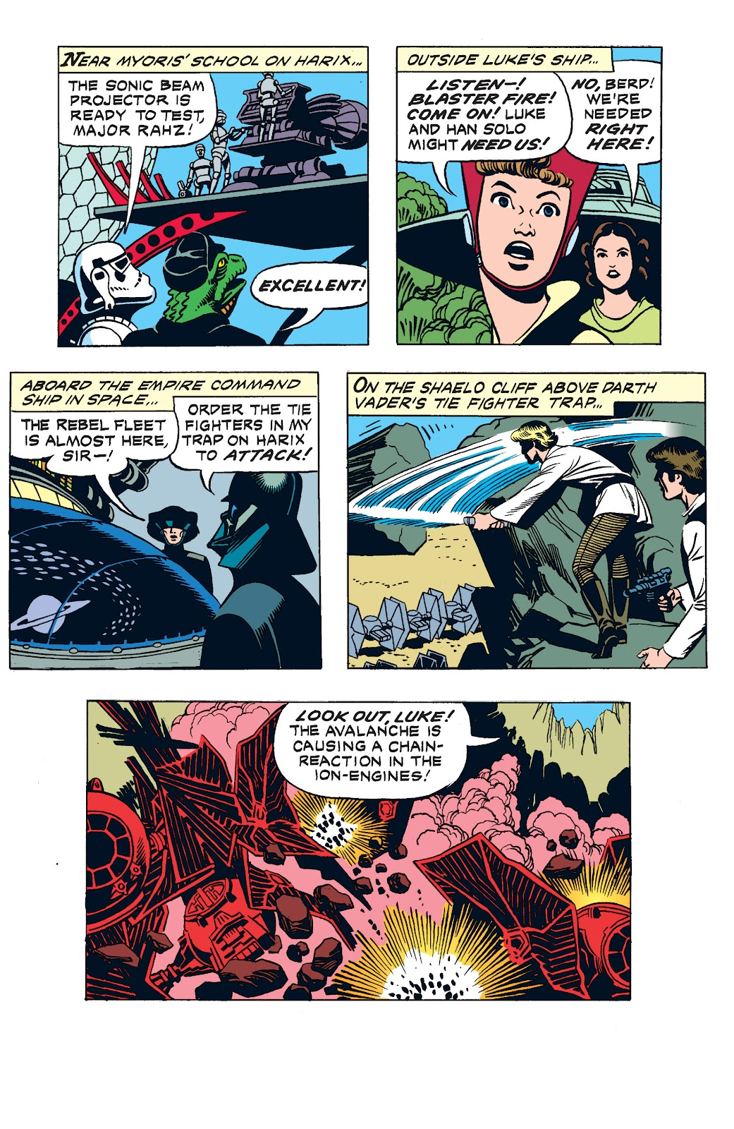 Read online Star Wars Legends: The Newspaper Strips - Epic Collection comic -  Issue # TPB (Part 3) - 19