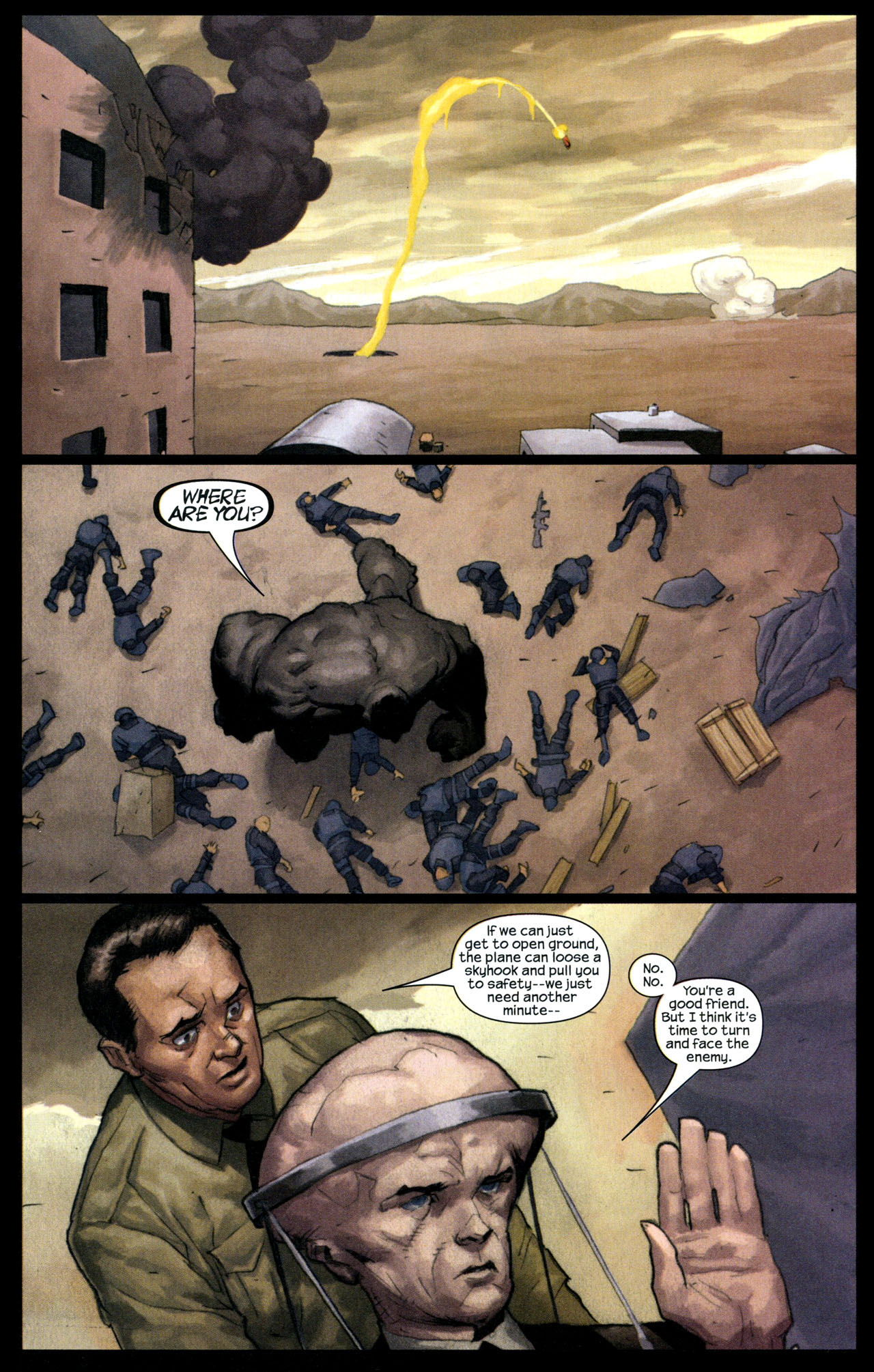 Read online Ultimate Human comic -  Issue #4 - 15