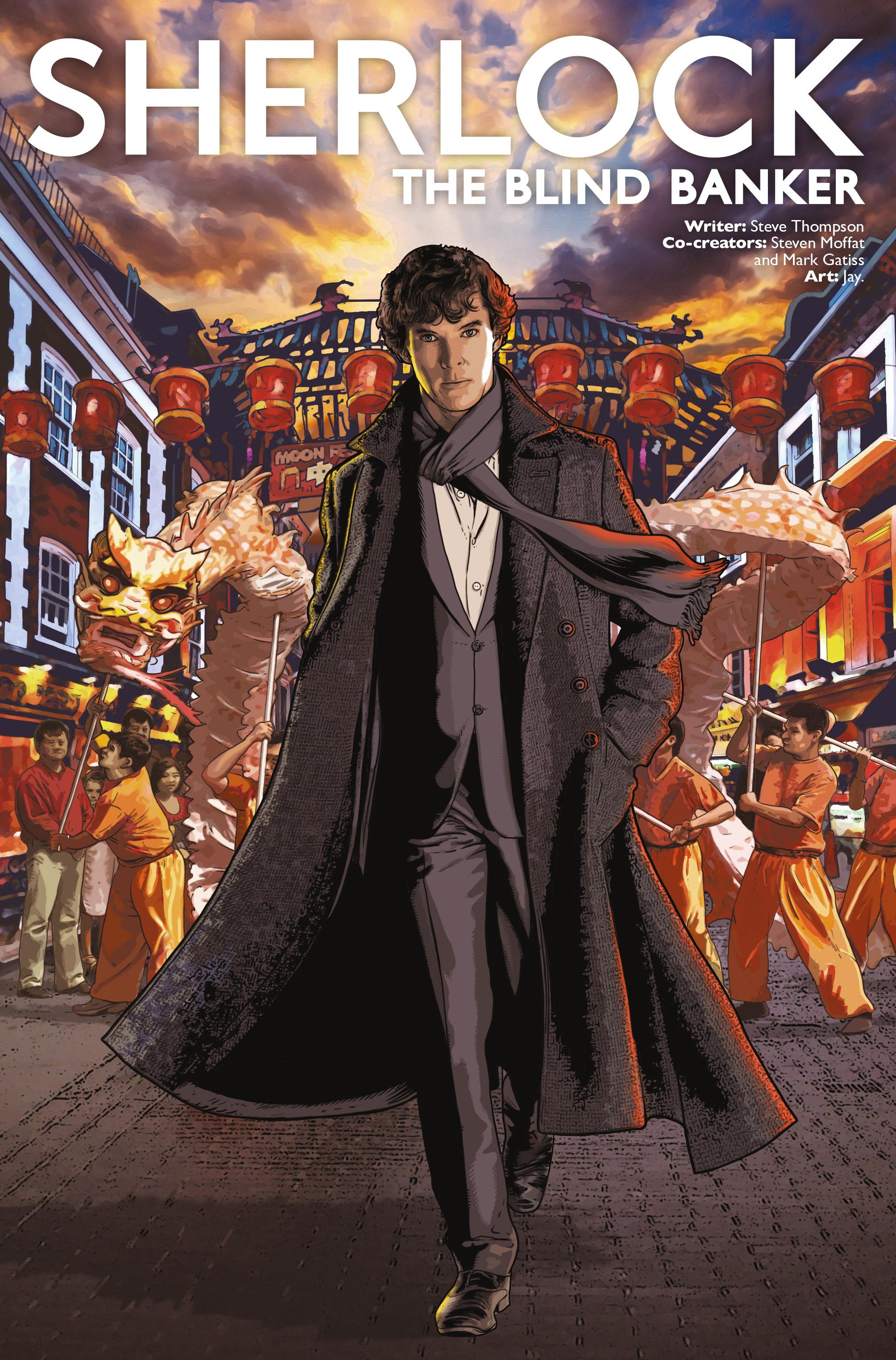Read online Sherlock: The Blind Banker comic -  Issue #2 - 1