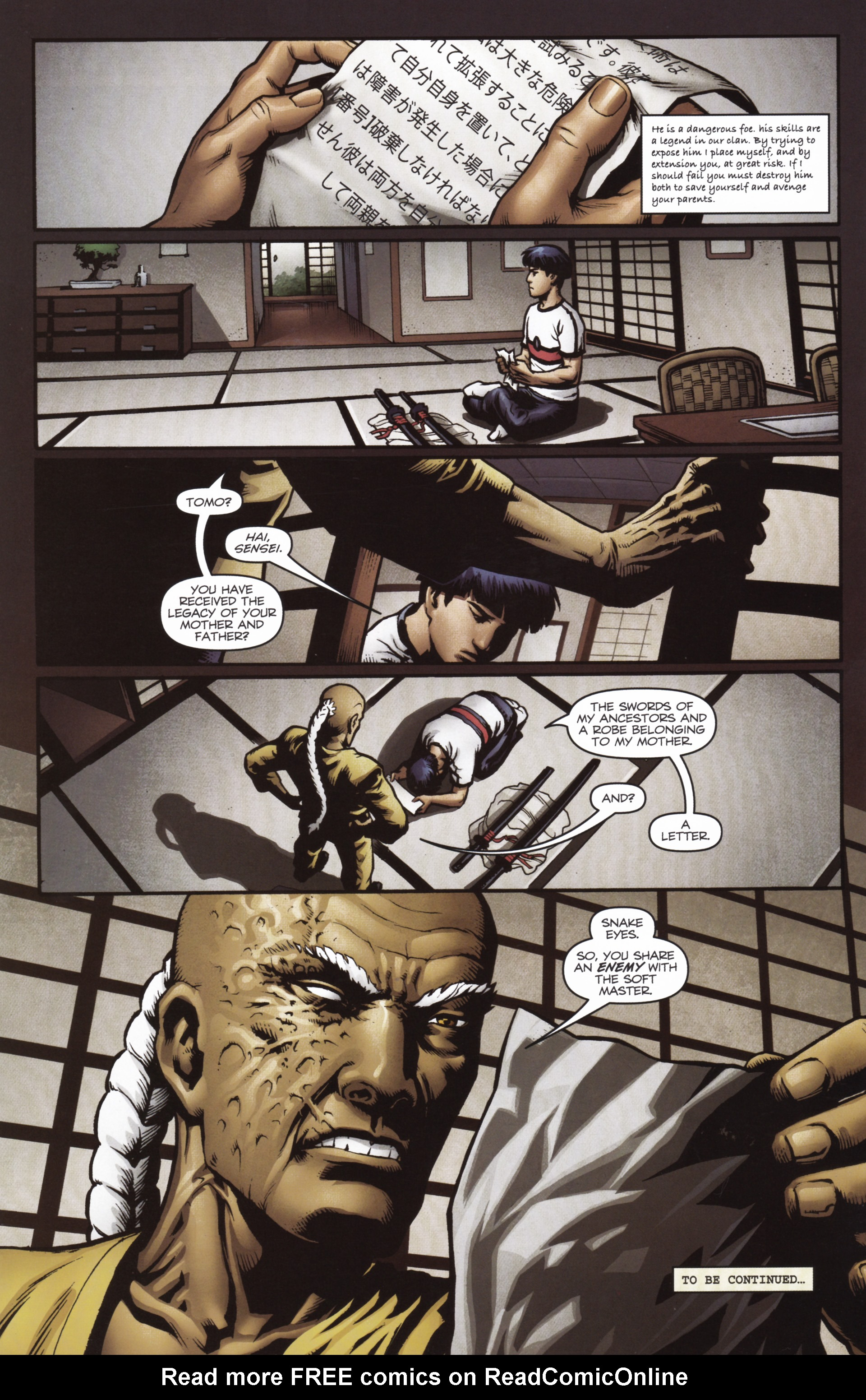 Read online Snake Eyes and Storm Shadow comic -  Issue #16 - 24