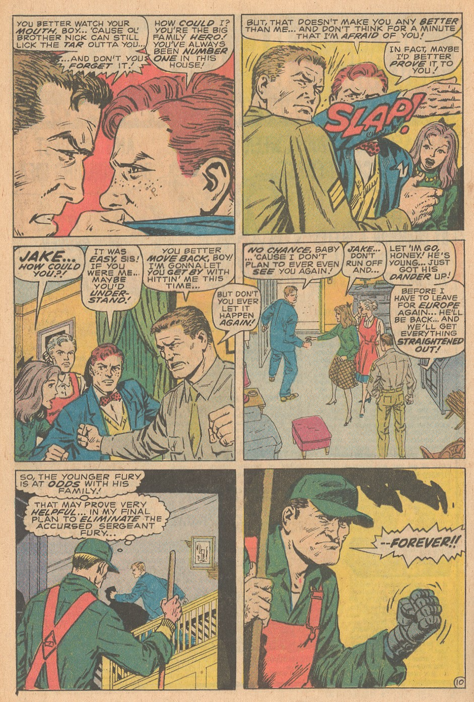 Read online Sgt. Fury comic -  Issue #68 - 16