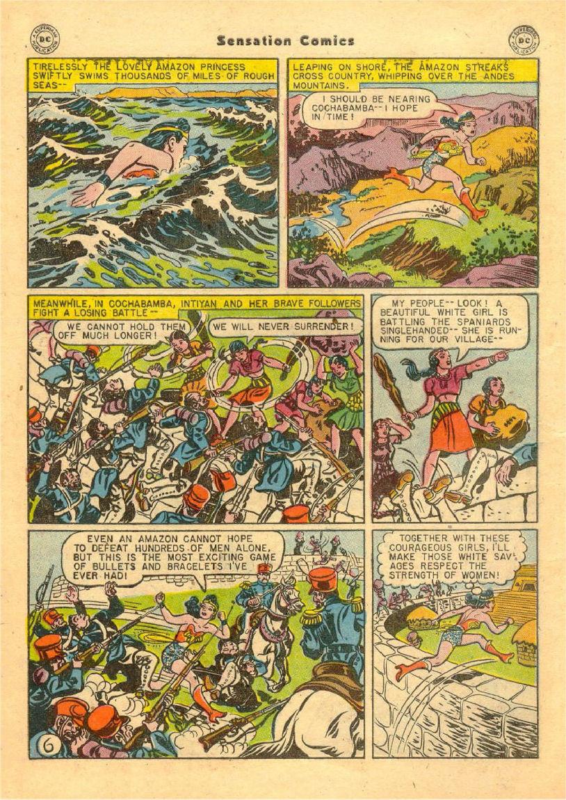 Read online Sensation (Mystery) Comics comic -  Issue #70 - 7