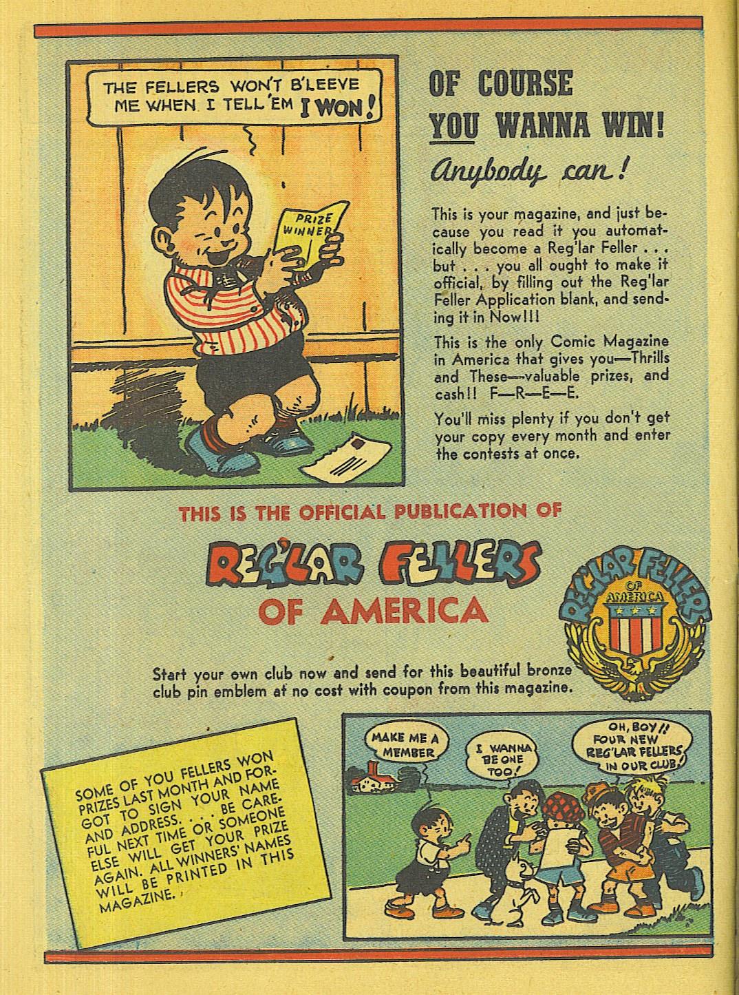 Reglar Fellers Heroic Comics issue 5 - Page 31