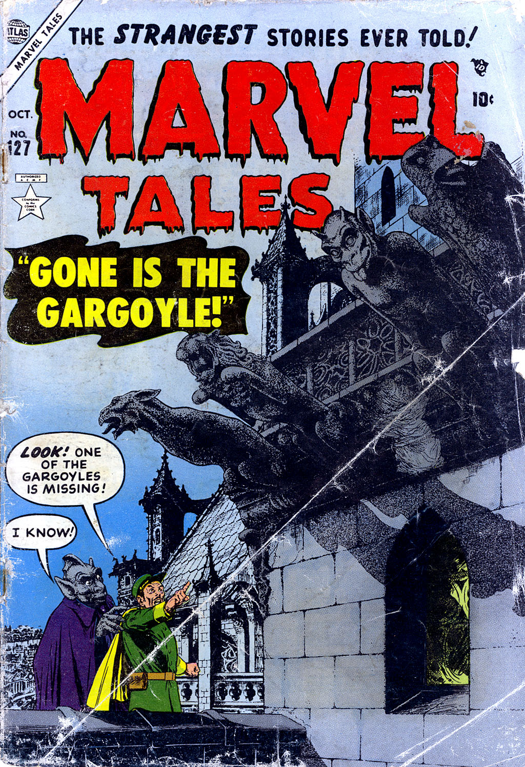Marvel Tales (1949) issue 127 - Page 1