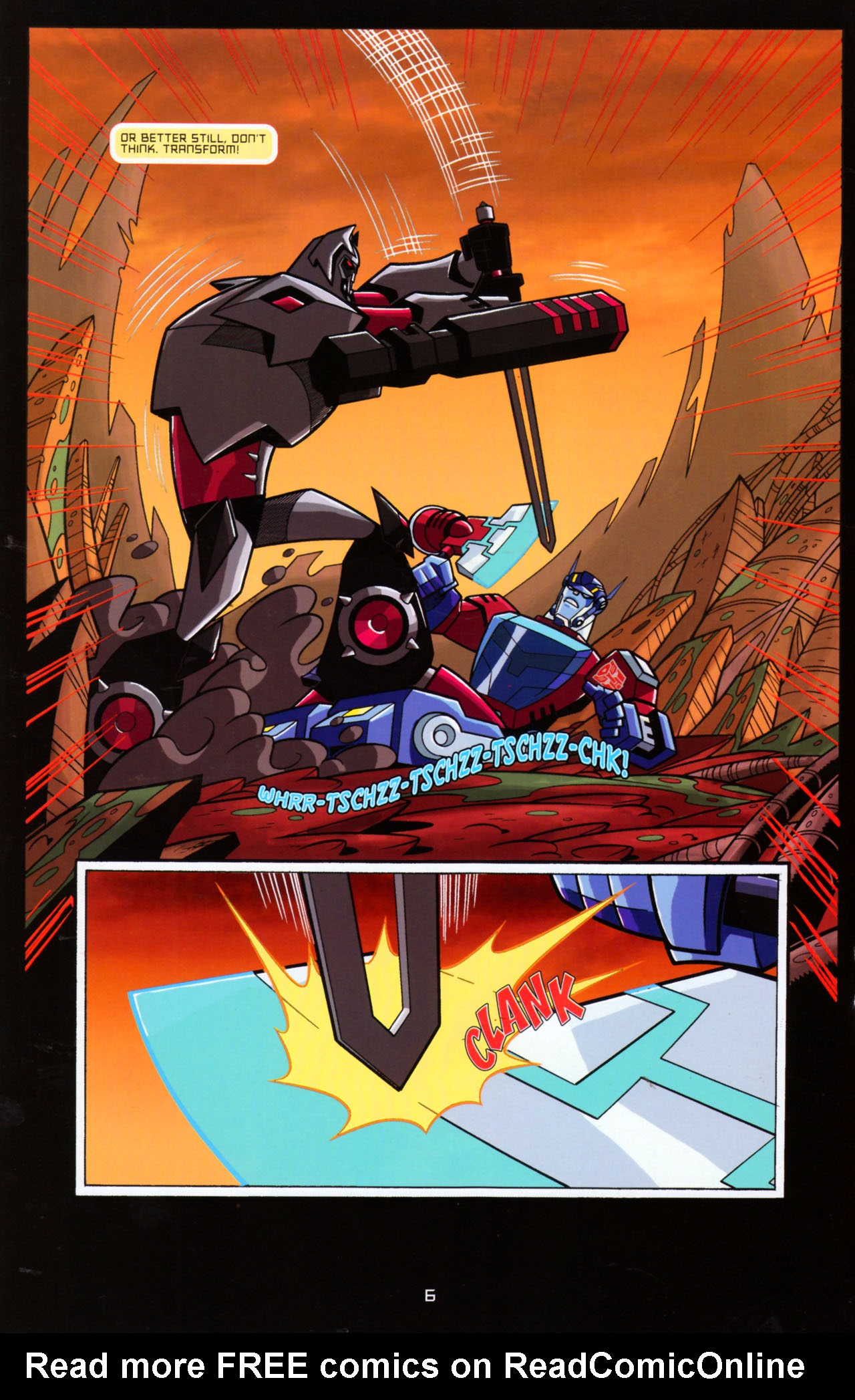 Read online Transformers Animated: The Arrival comic -  Issue #5 - 10