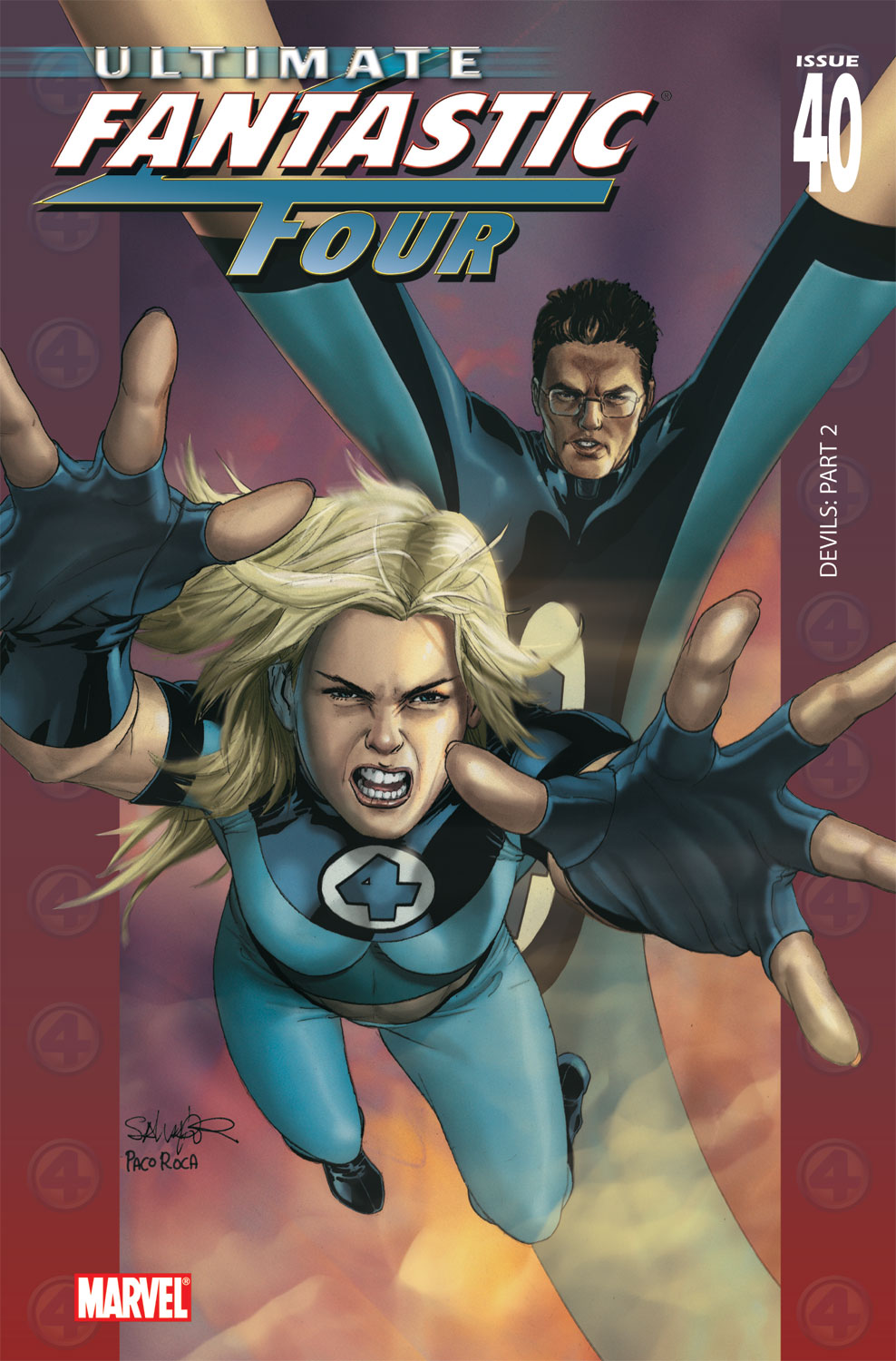Read online Ultimate Fantastic Four (2004) comic -  Issue #40 - 1