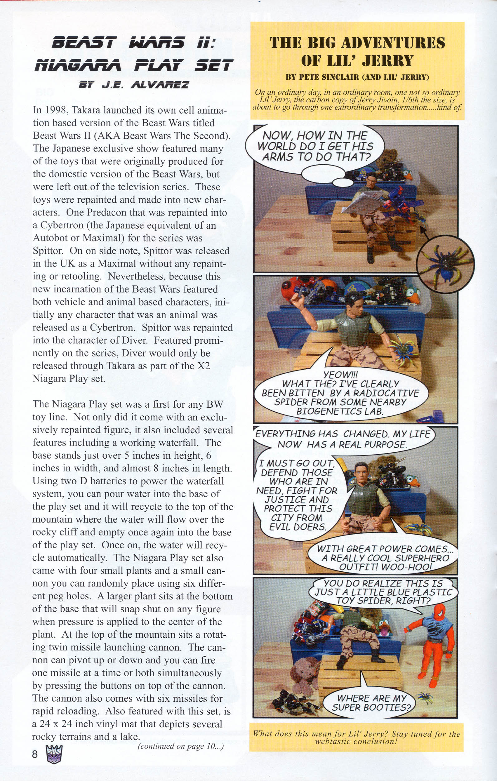 Read online Transformers: Collectors' Club comic -  Issue #8 - 8