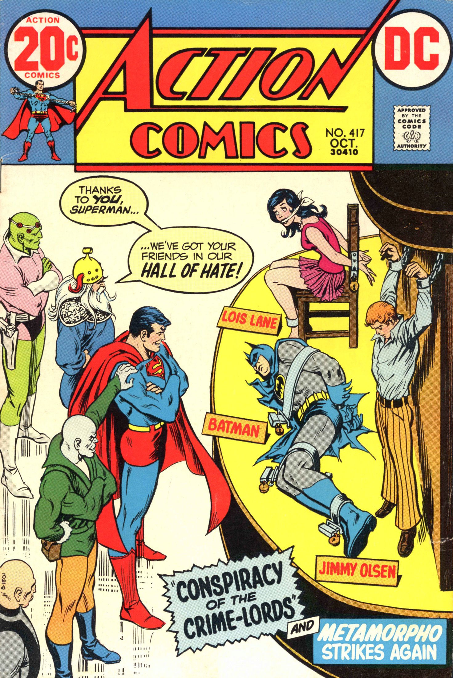 Read online Action Comics (1938) comic -  Issue #417 - 1