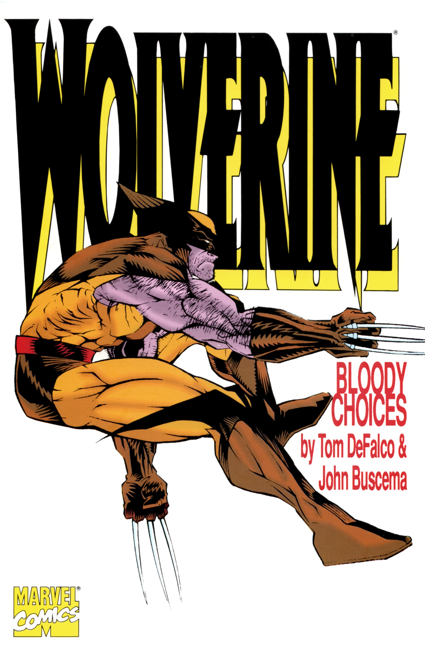 Wolverine: Bloody Choices Full Page 1