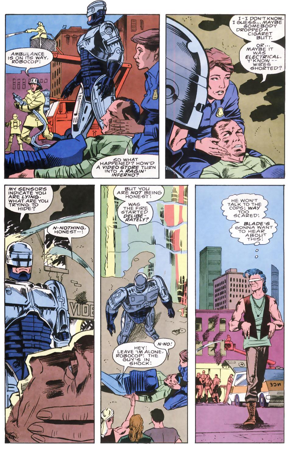Read online Robocop (1990) comic -  Issue #8 - 4