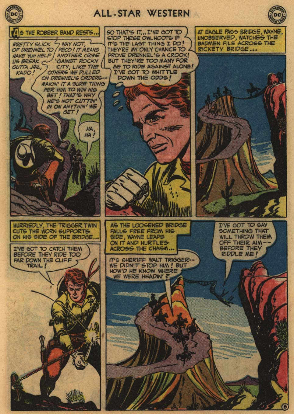 Read online All-Star Western (1951) comic -  Issue #60 - 10