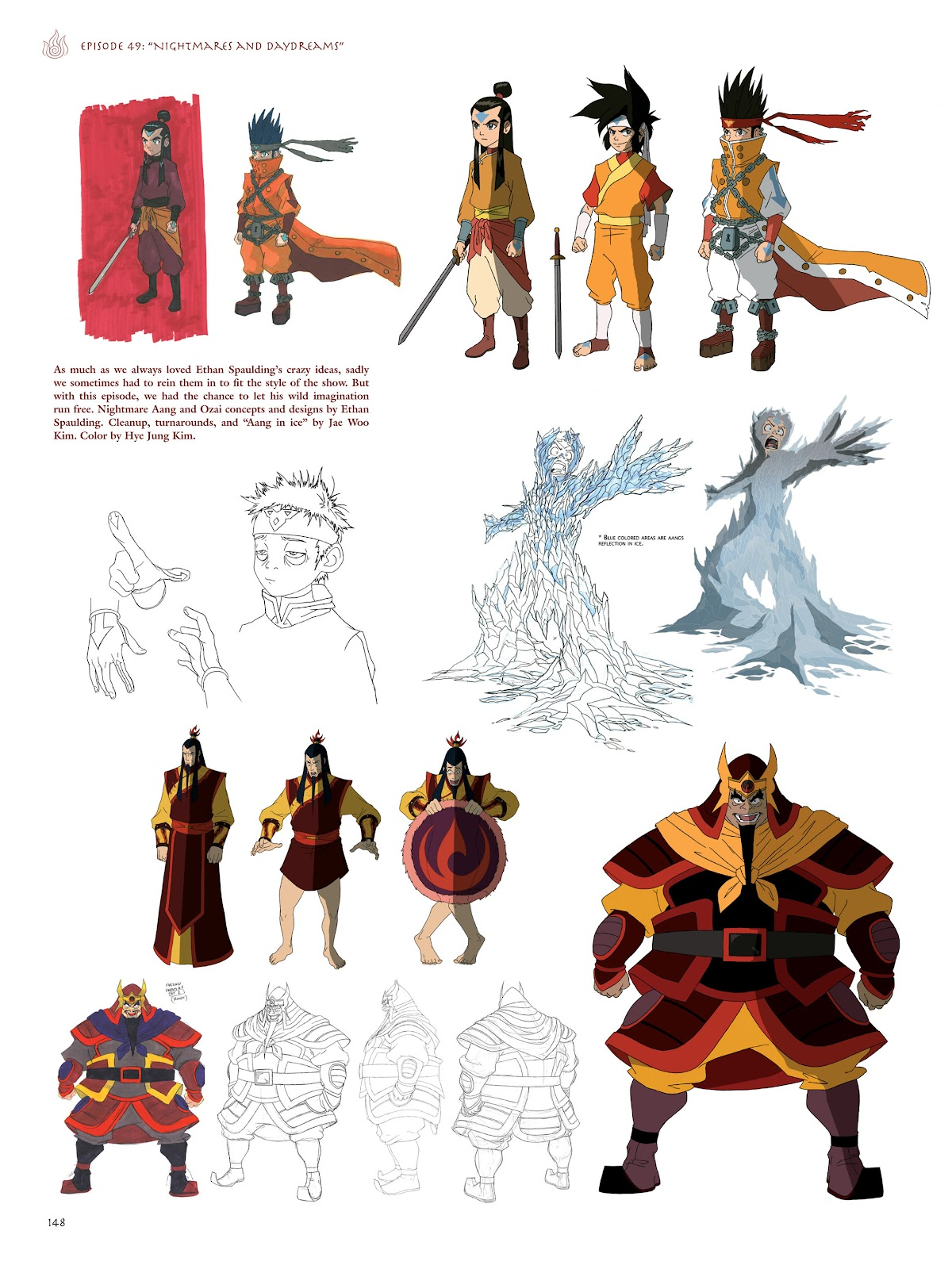 Read online Avatar: The Last Airbender - The Art of the Animated Series comic -  Issue # TPB (Part 2) - 45