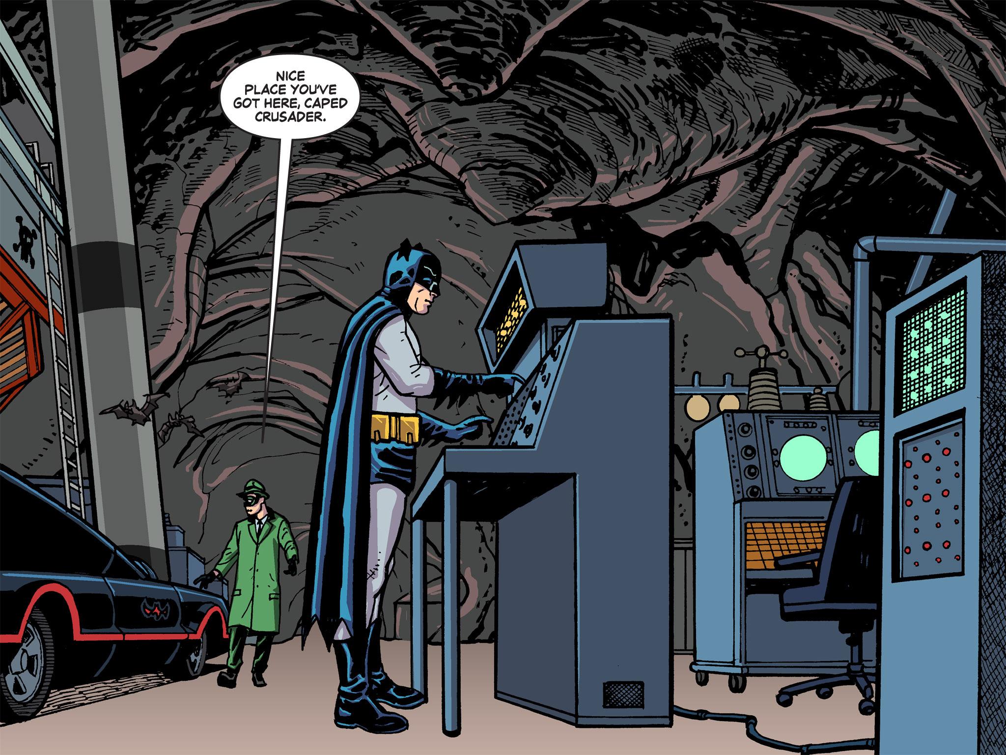 Read online Batman '66 Meets the Green Hornet [II] comic -  Issue #5 - 49