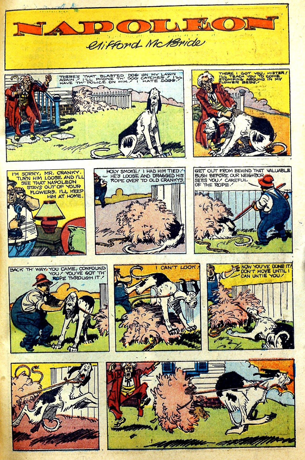 Read online Famous Funnies comic -  Issue #166 - 49