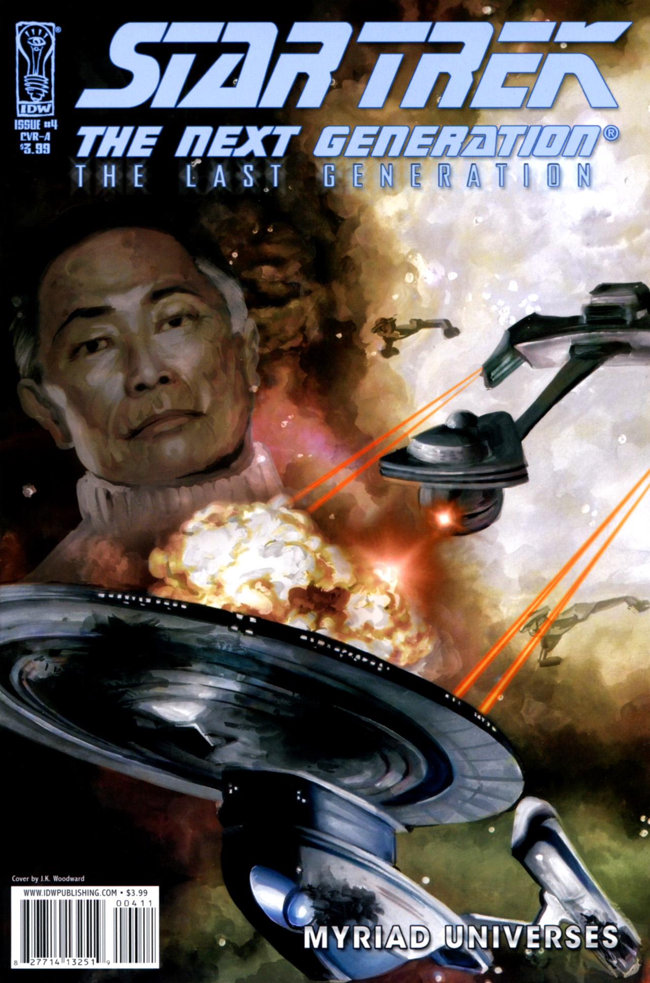 Star Trek: The Next Generation: The Last Generation 4 Page 1