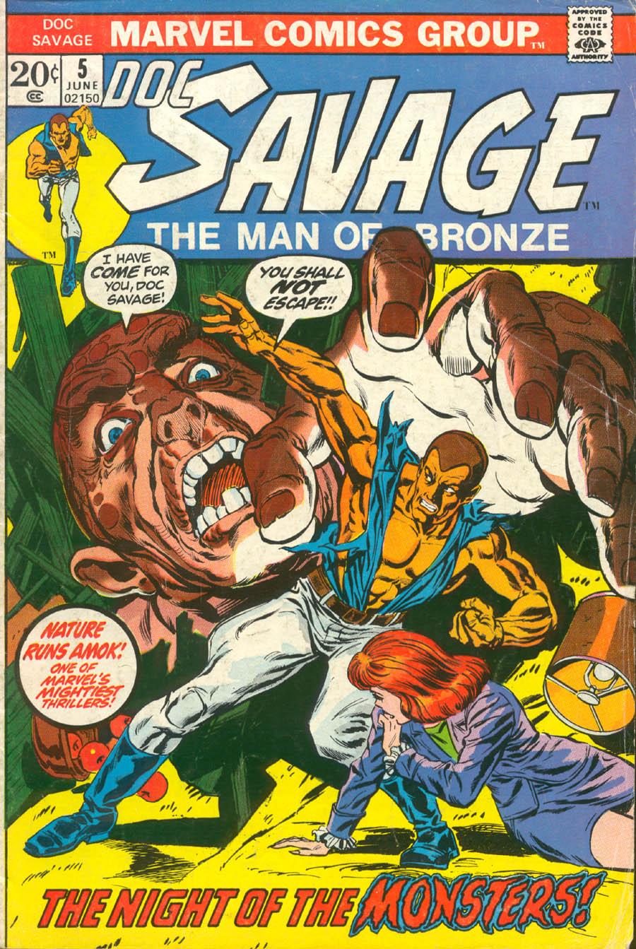 Doc Savage (1972) 5 Page 1