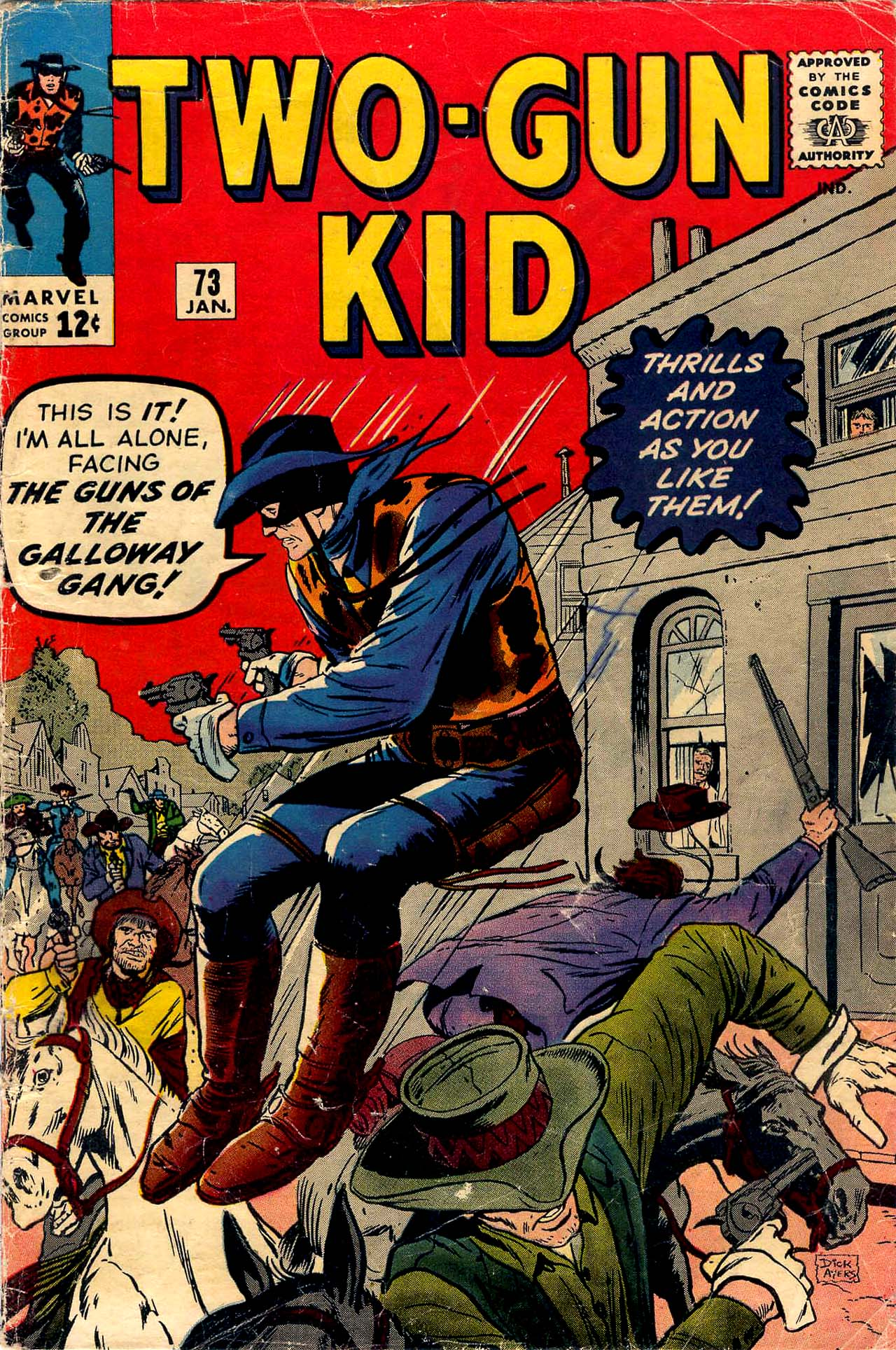 Read online Two-Gun Kid comic -  Issue #73 - 1