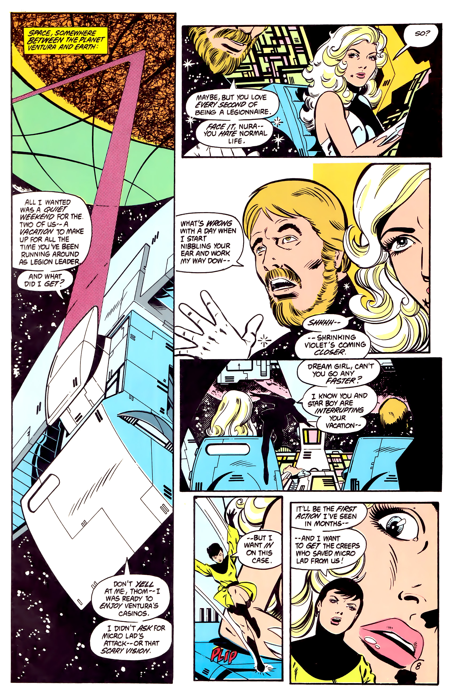 Legion of Super-Heroes (1984) 2 Page 9