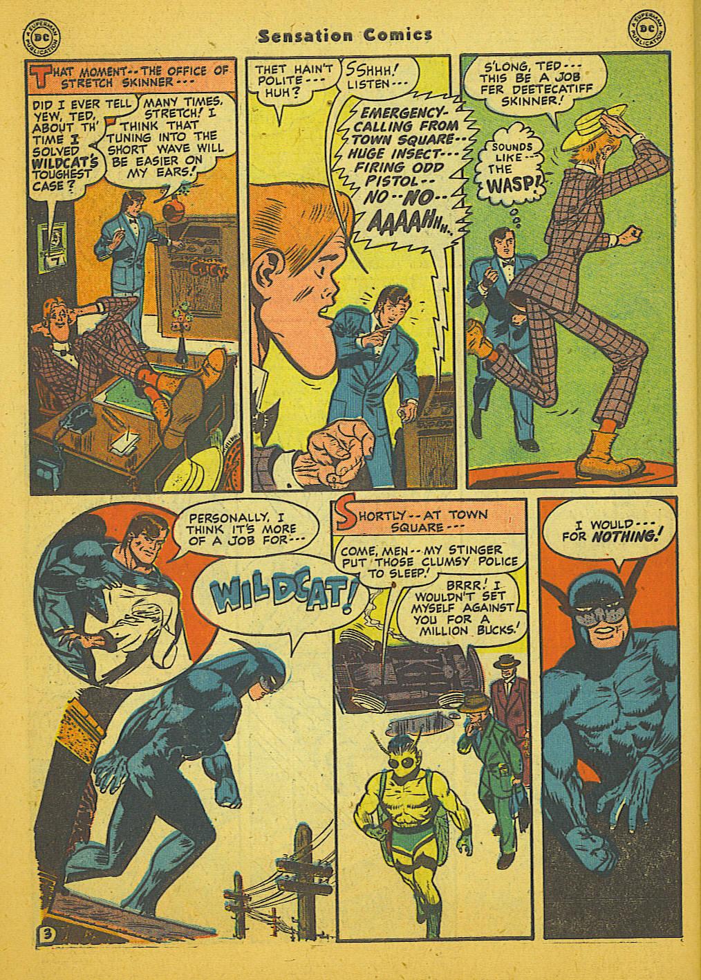 Read online Sensation (Mystery) Comics comic -  Issue #66 - 44