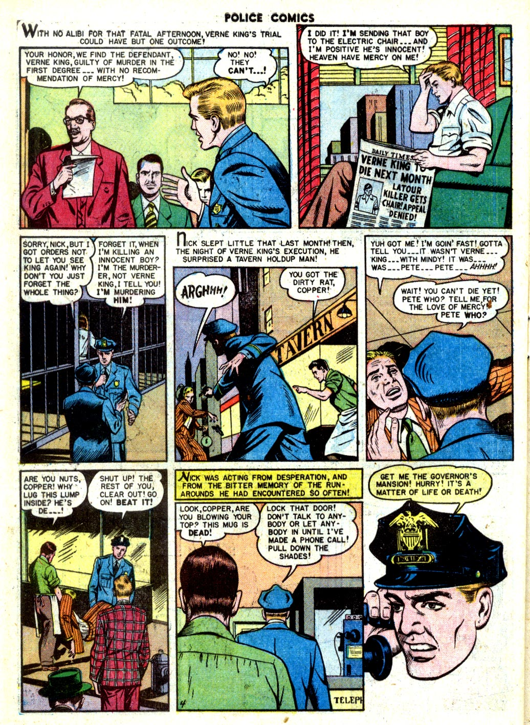 Police Comics issue 105 - Page 40