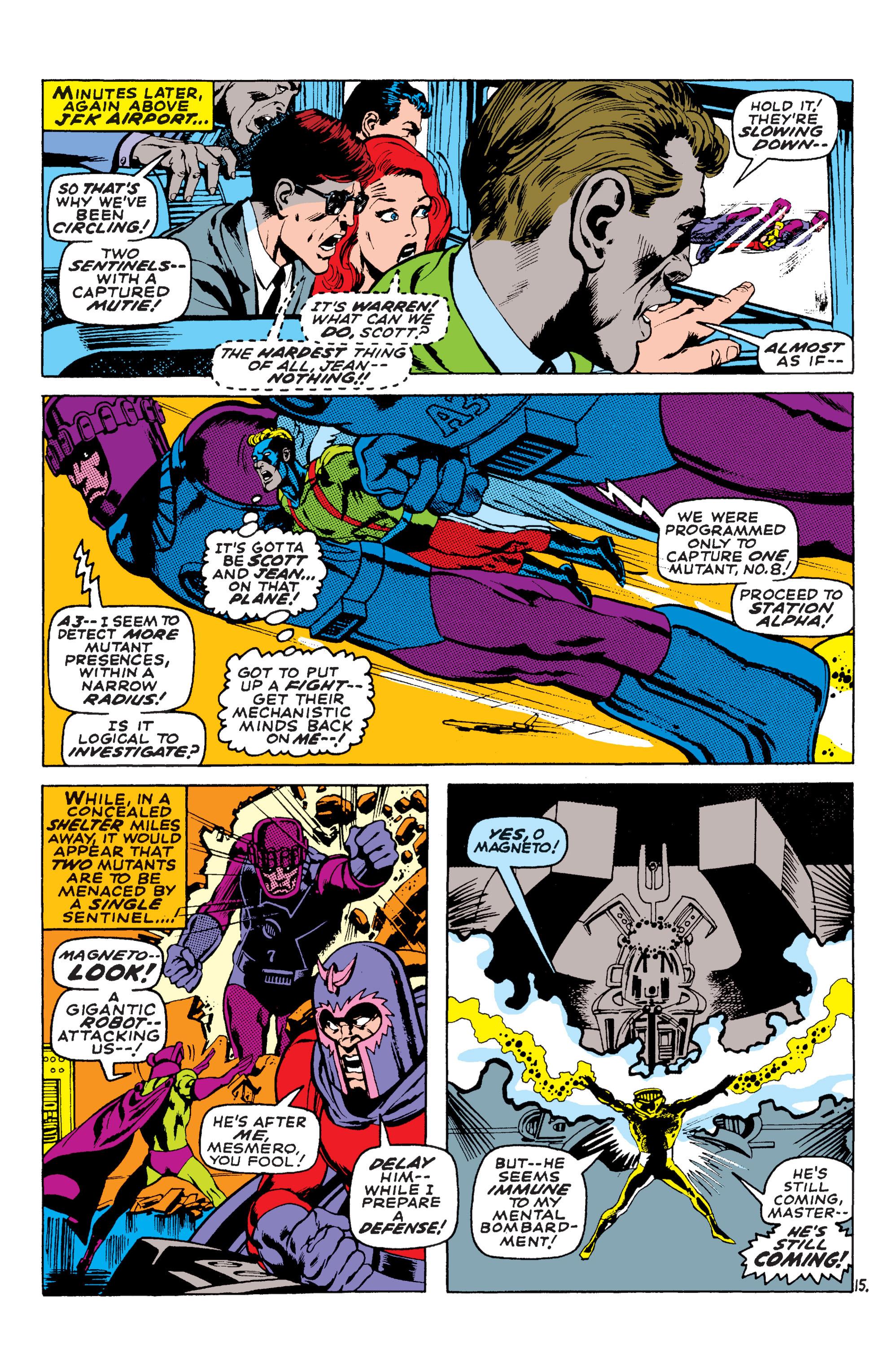 Read online Uncanny X-Men (1963) comic -  Issue #58 - 15