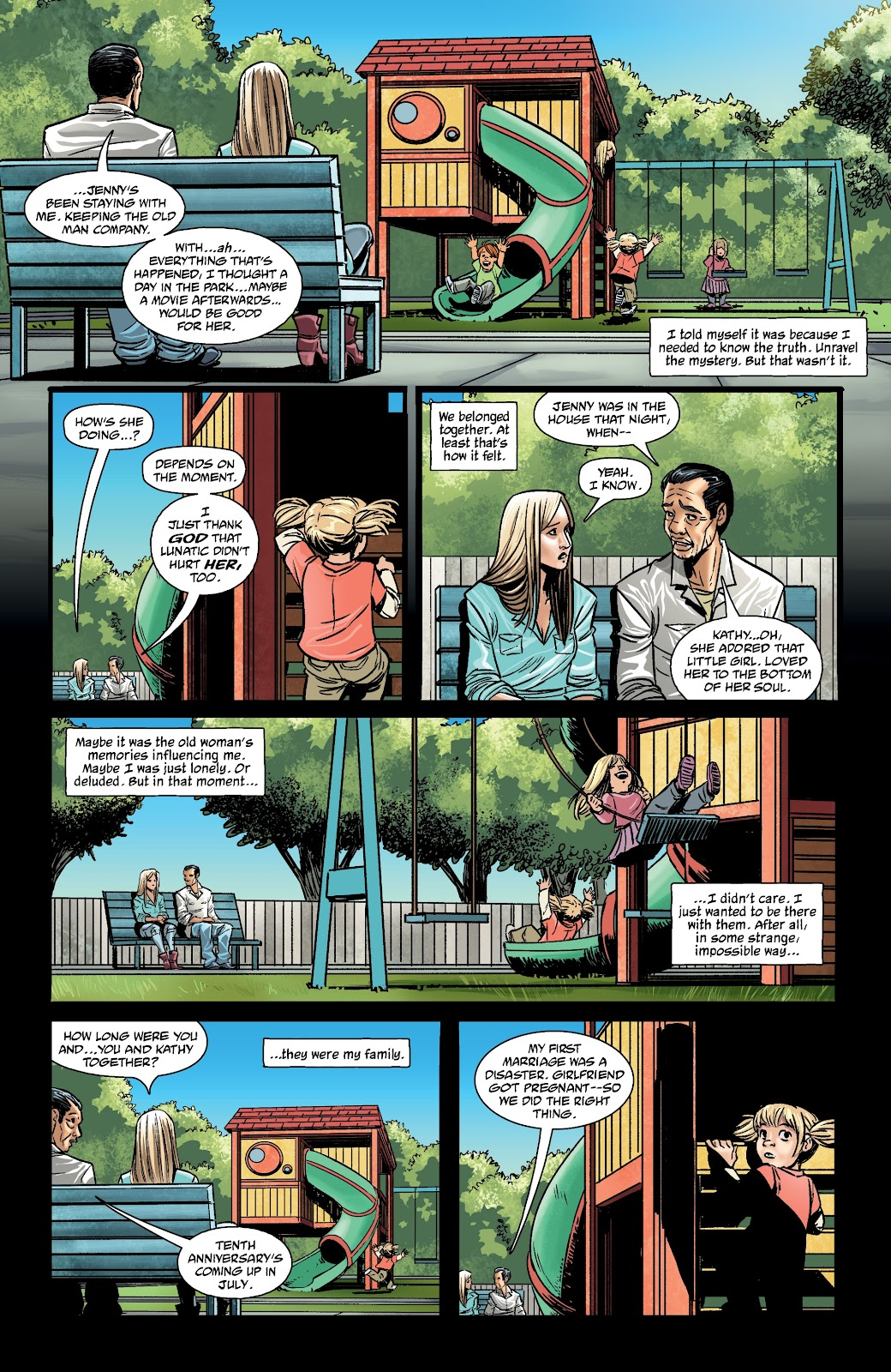 Read online The Girl In The Bay comic -  Issue #3 - 26