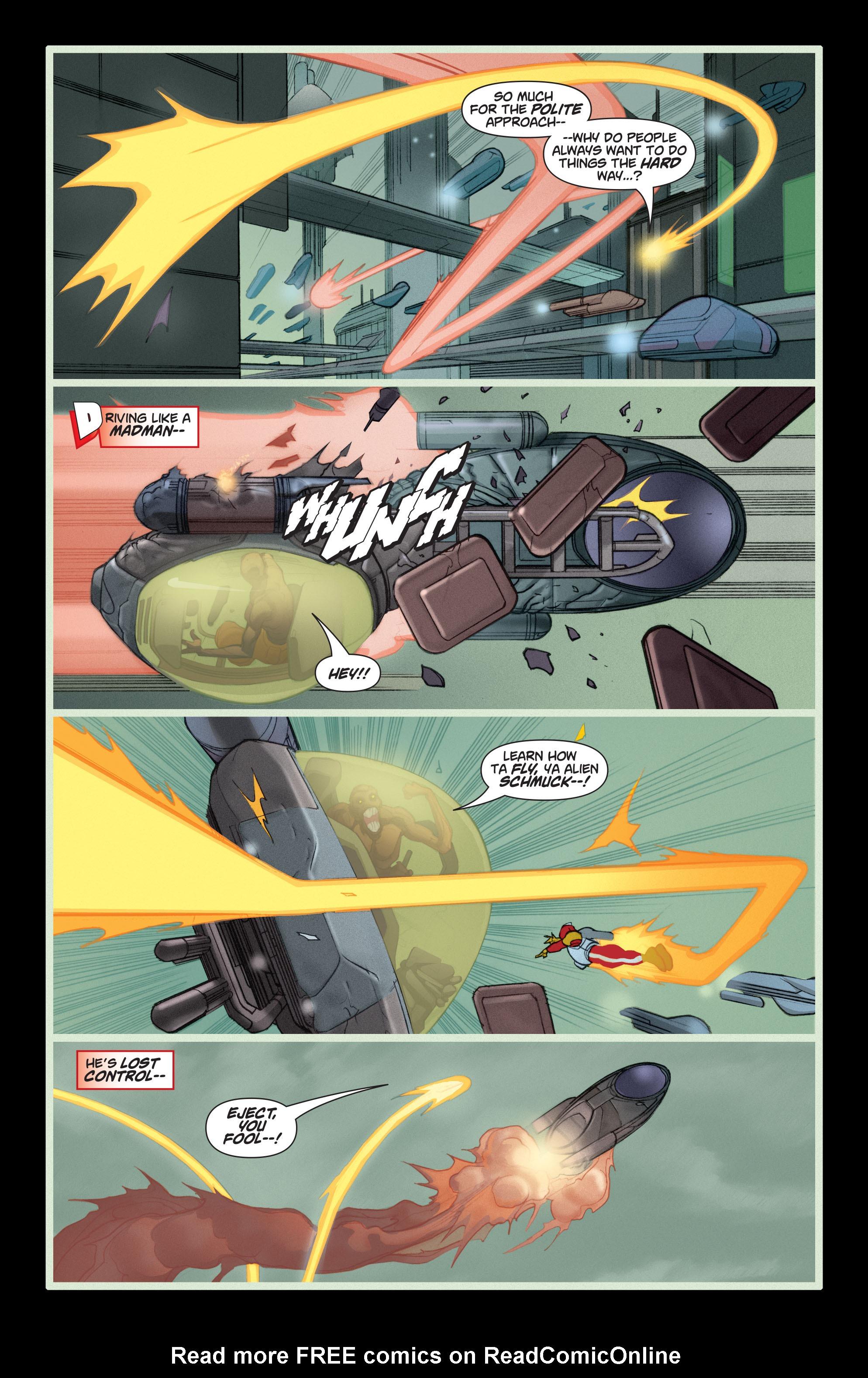 Read online Adam Strange (2004) comic -  Issue #5 - 21