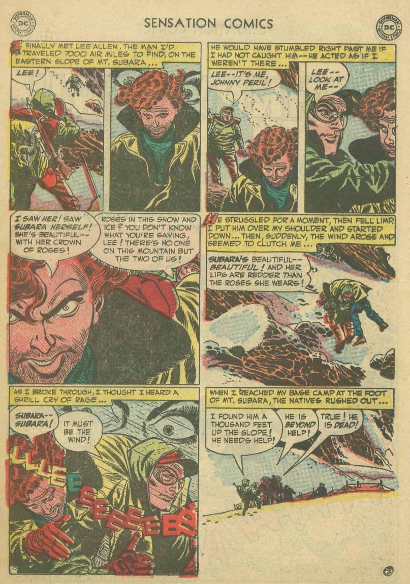 Read online Sensation (Mystery) Comics comic -  Issue #107 - 26