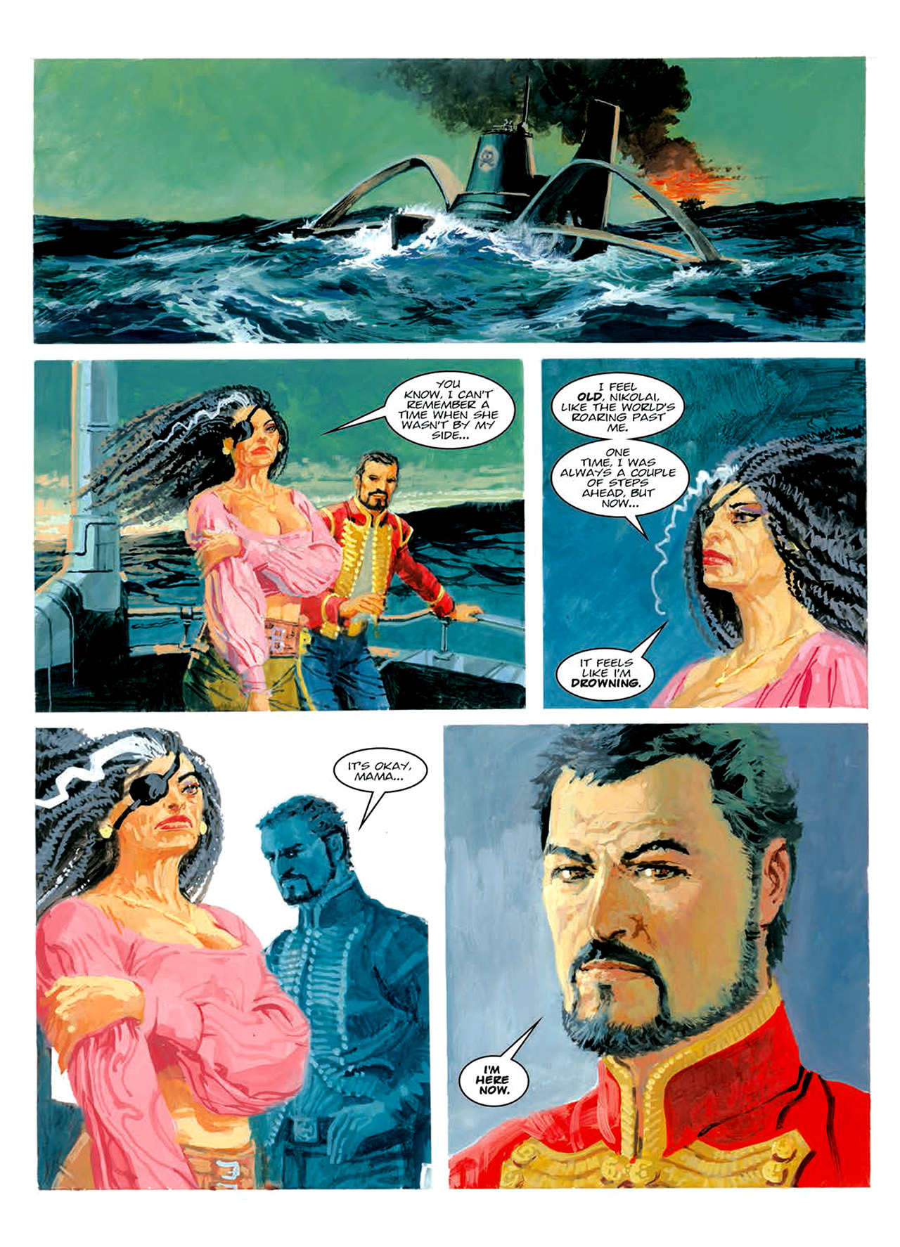 Read online Nikolai Dante comic -  Issue # TPB 6 - 203
