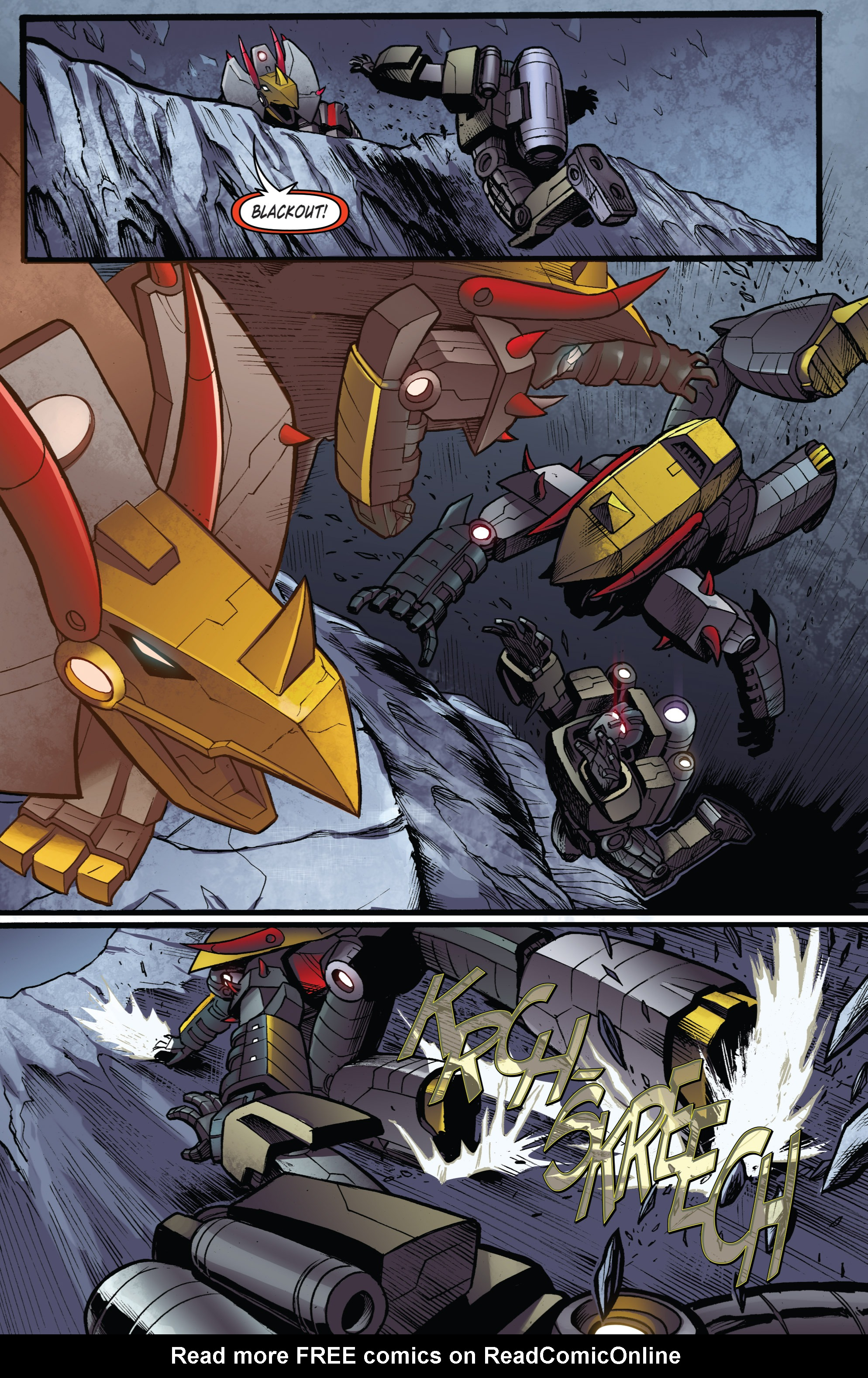 Read online Transformers Prime: Beast Hunters comic -  Issue #6 - 16