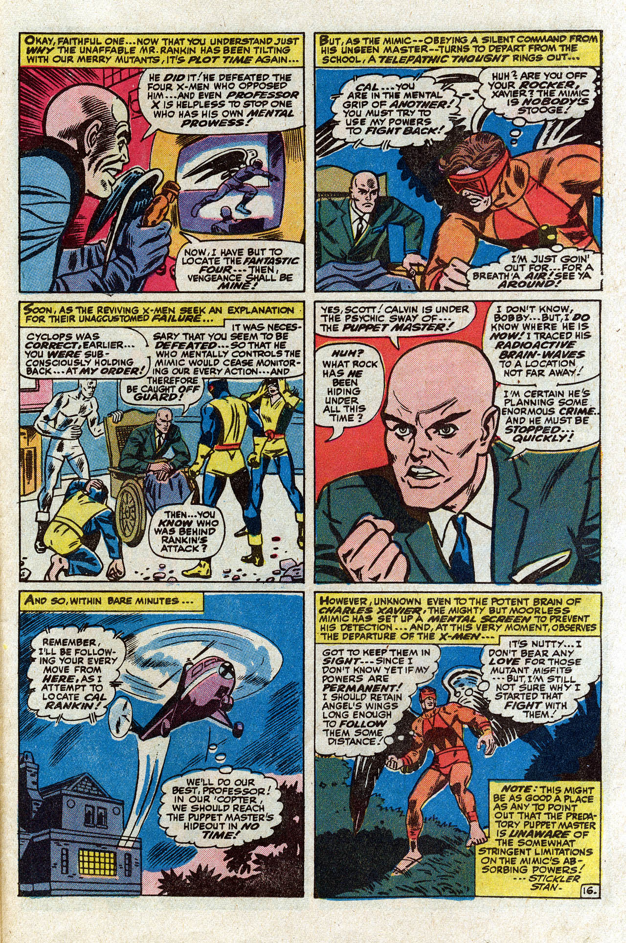Read online Uncanny X-Men (1963) comic -  Issue #75 - 22