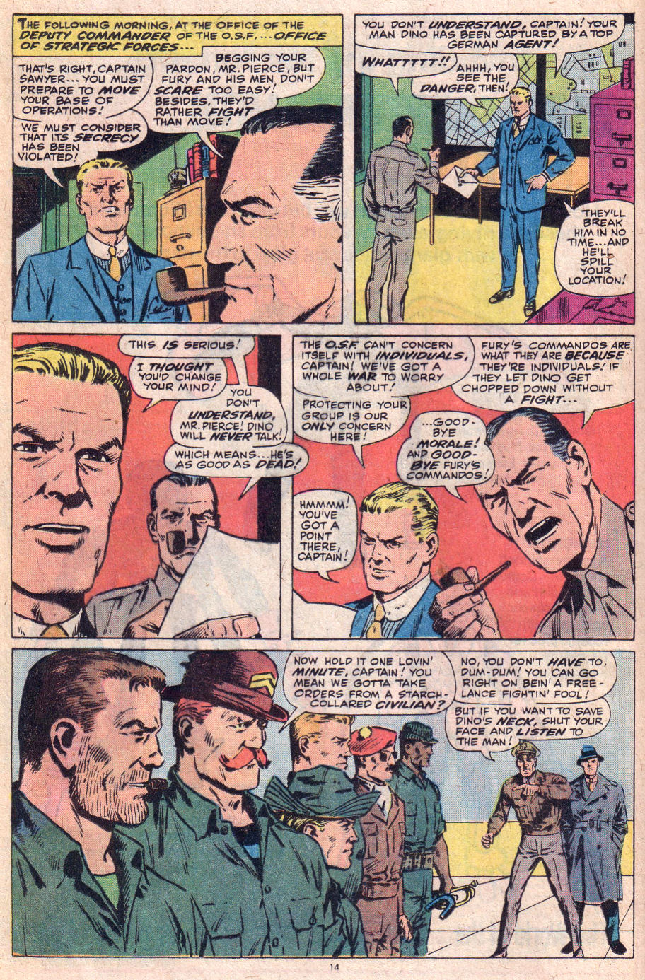 Read online Sgt. Fury comic -  Issue #153 - 16