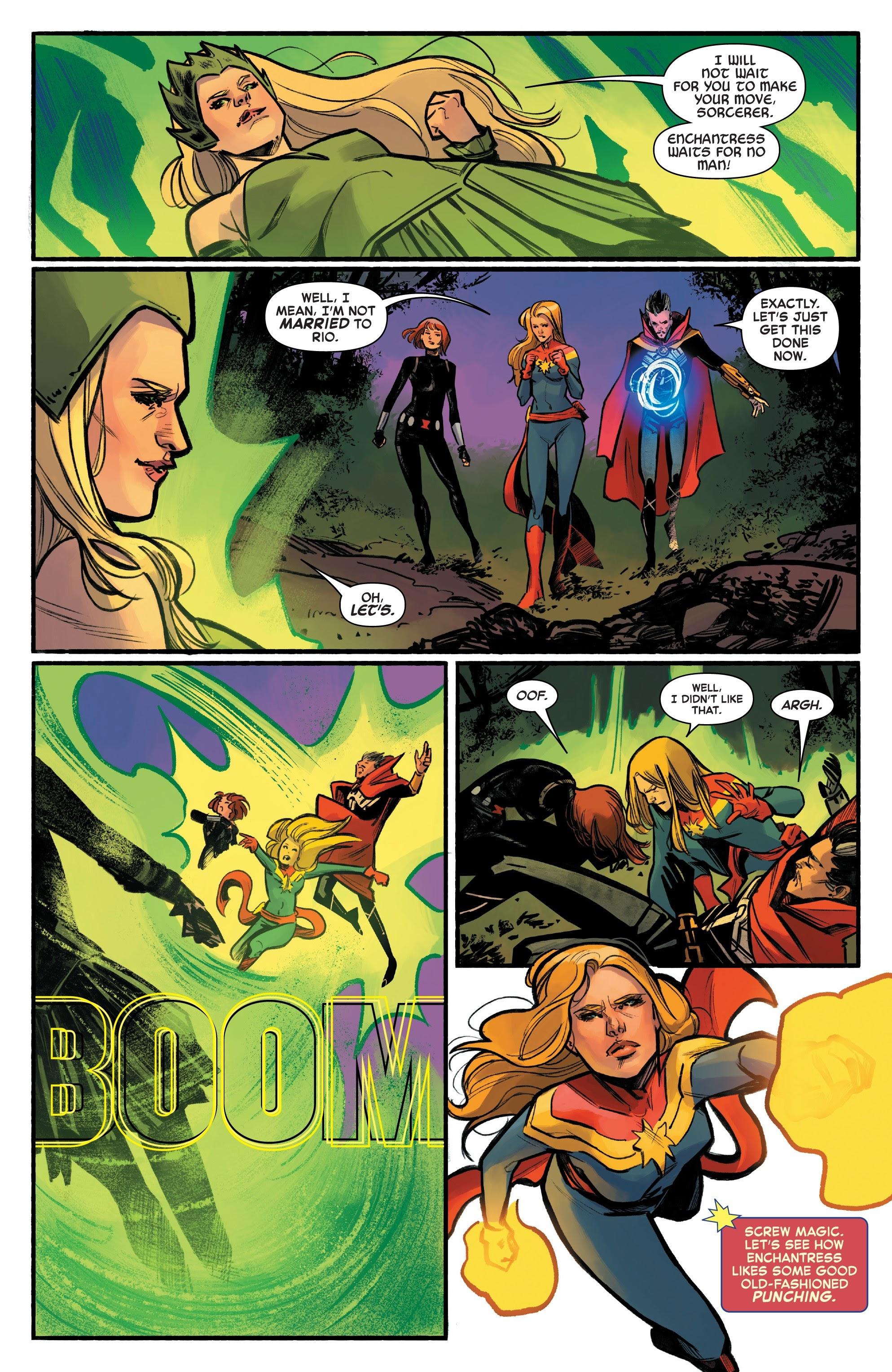 Read online Captain Marvel (2019) comic -  Issue #6 - 13