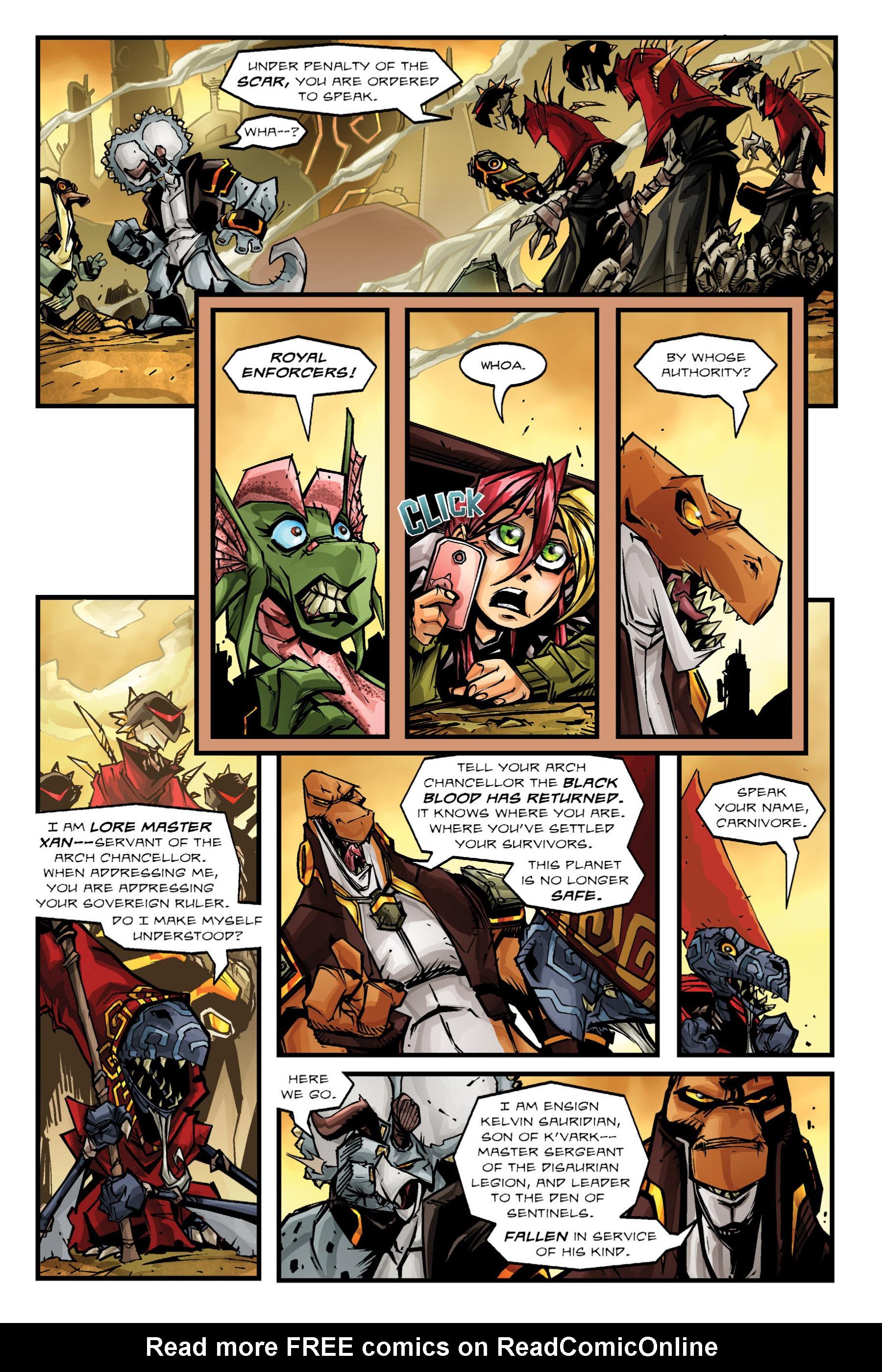 Read online Rexodus comic -  Issue # Full - 56